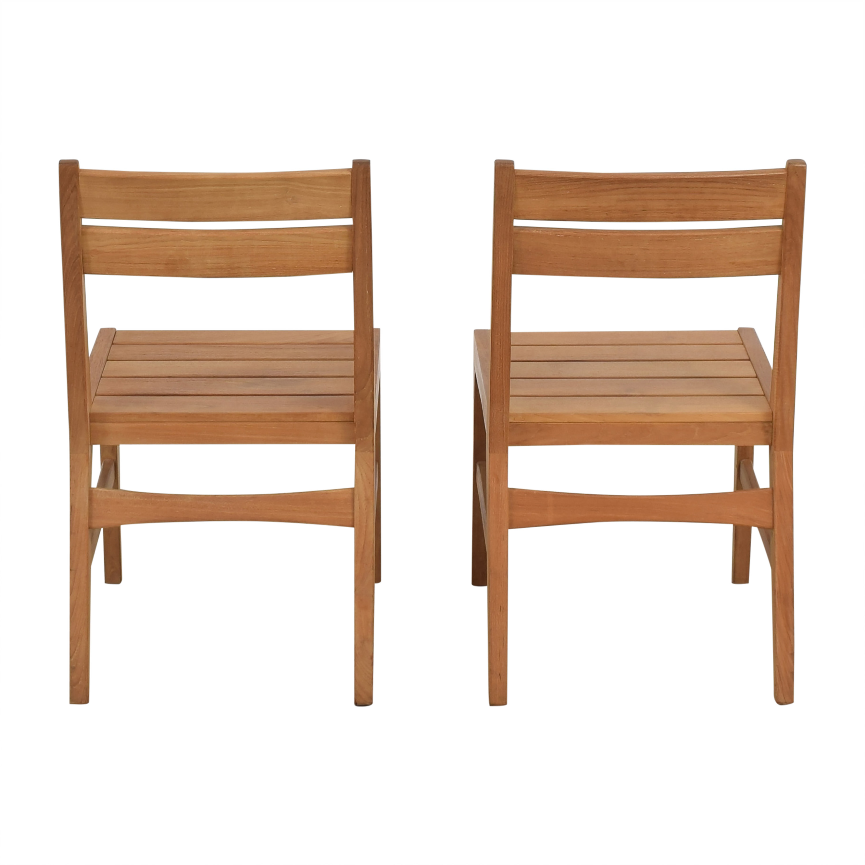 West Elm West Elm Mid-Century Outdoor Dining Chairs nyc