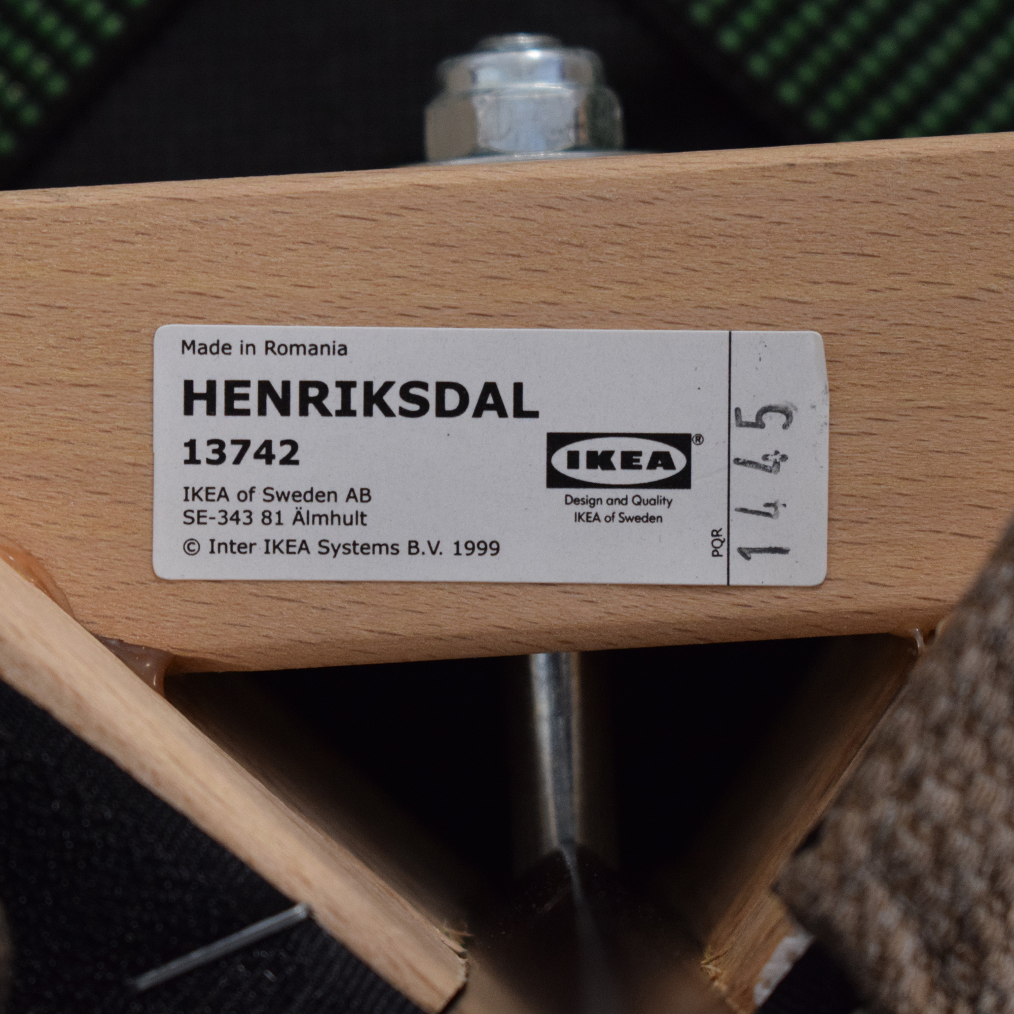 IKEA IKEA Henriksdal Dining Chair second hand