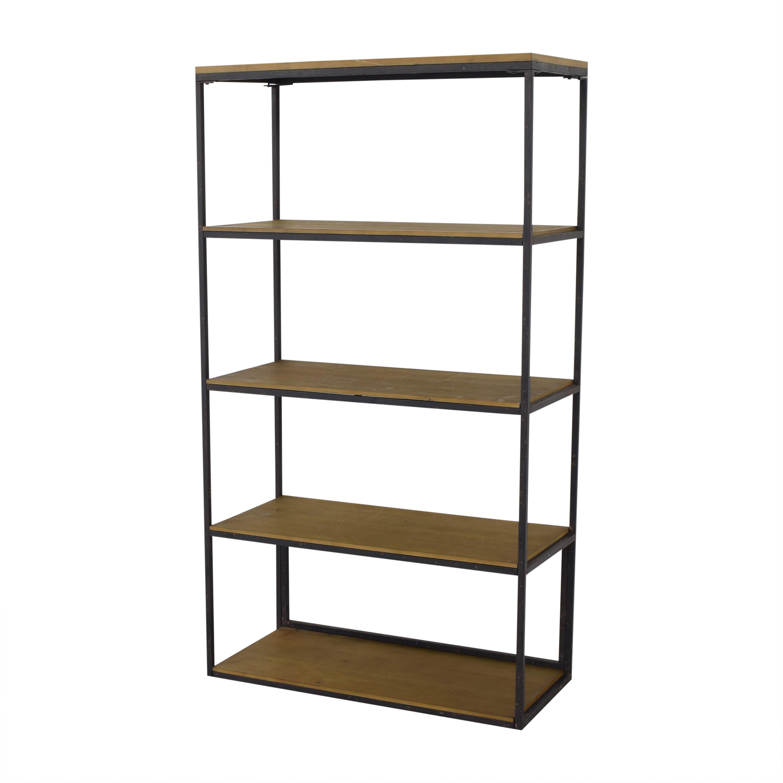 shop Wayfair Industrial Modern Bookshelf Wayfair Bookcases & Shelving