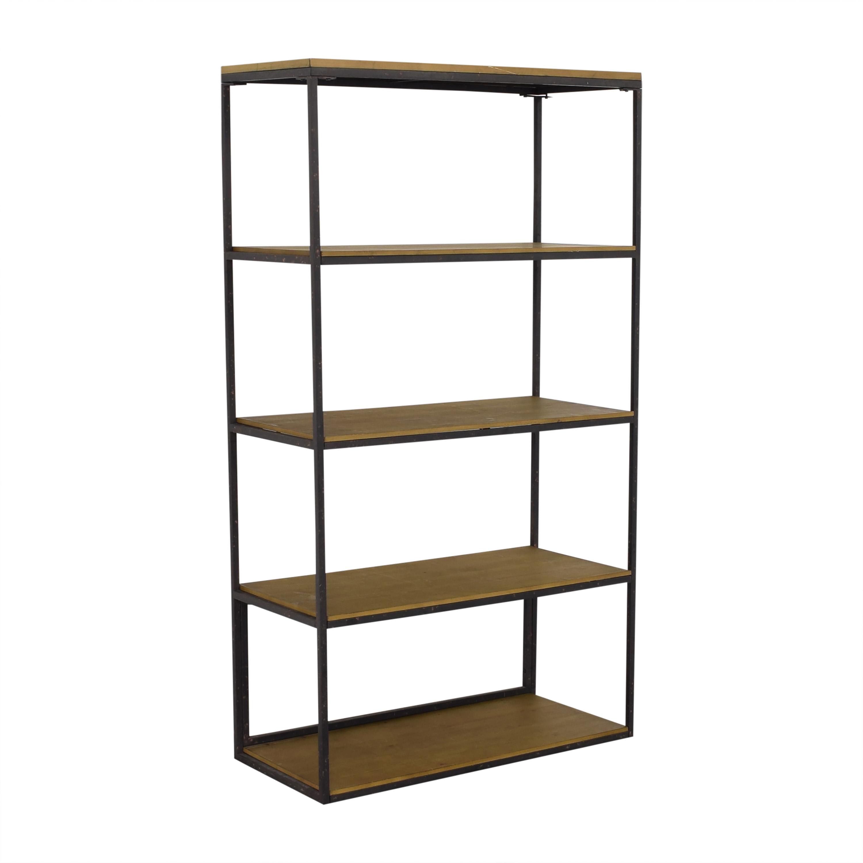 49 Off Wayfair Wayfair Industrial Modern Bookshelf Storage