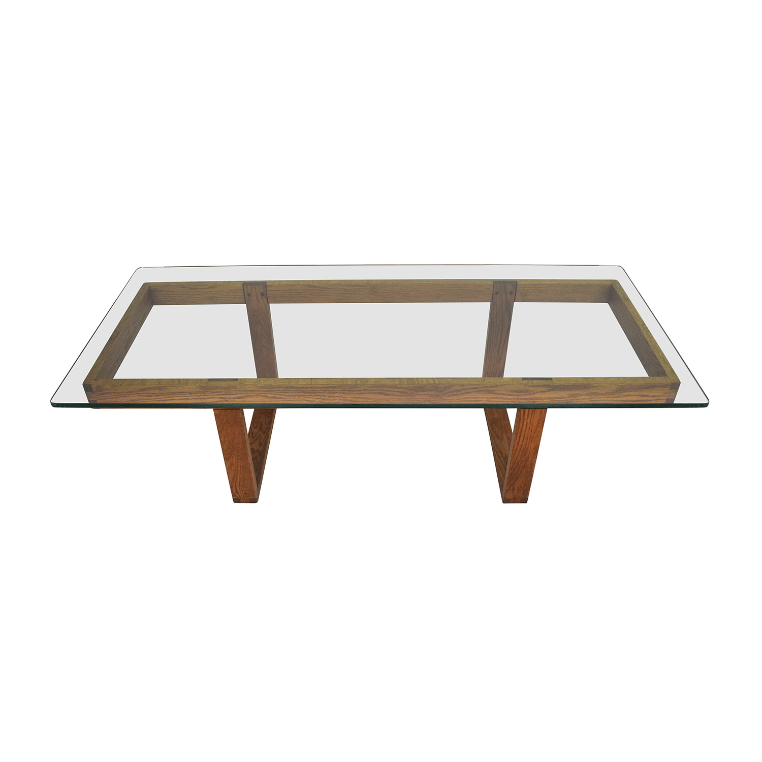 59% OFF Black Rectangular Coffee Table Tables