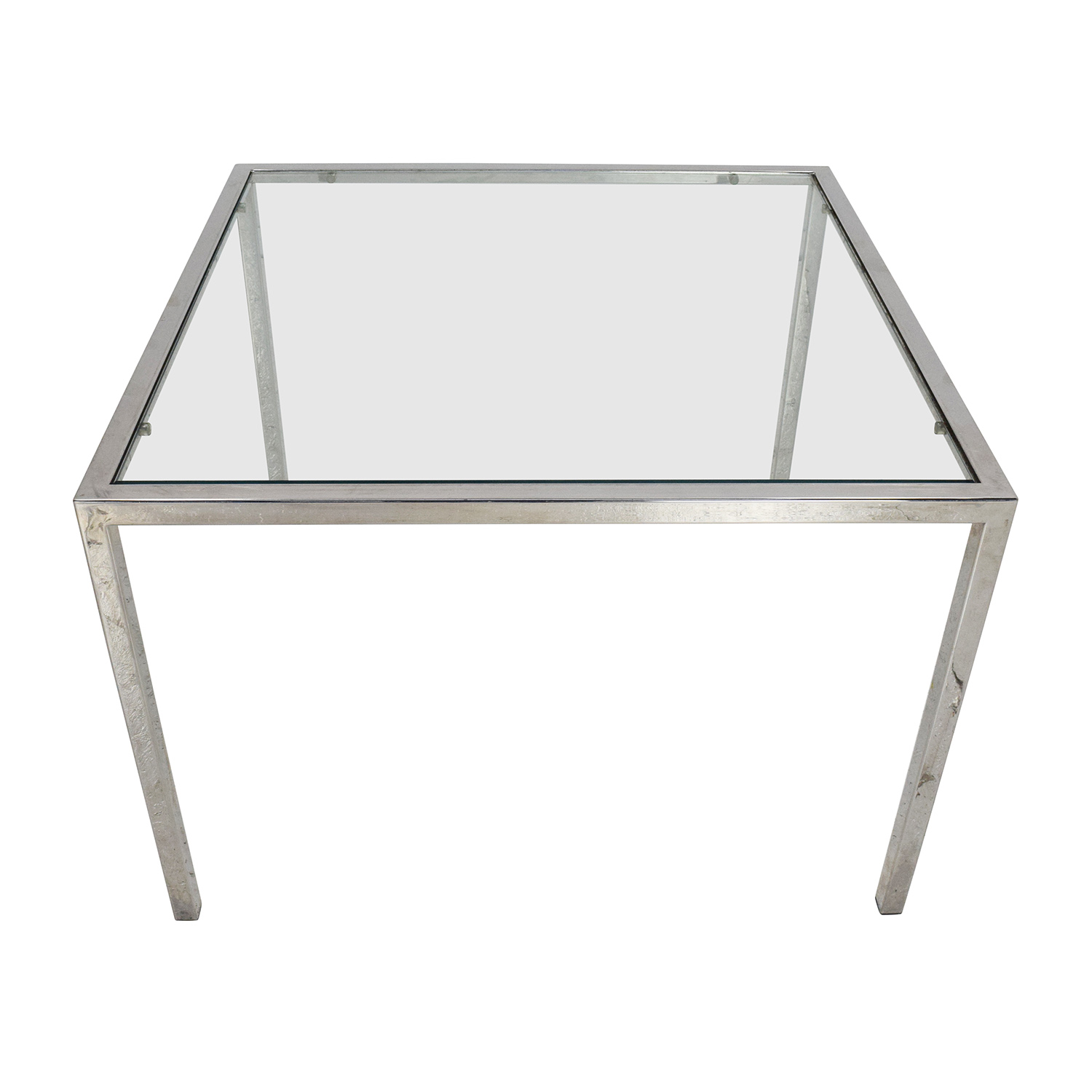 Unknown Brand Glass End Table for sale