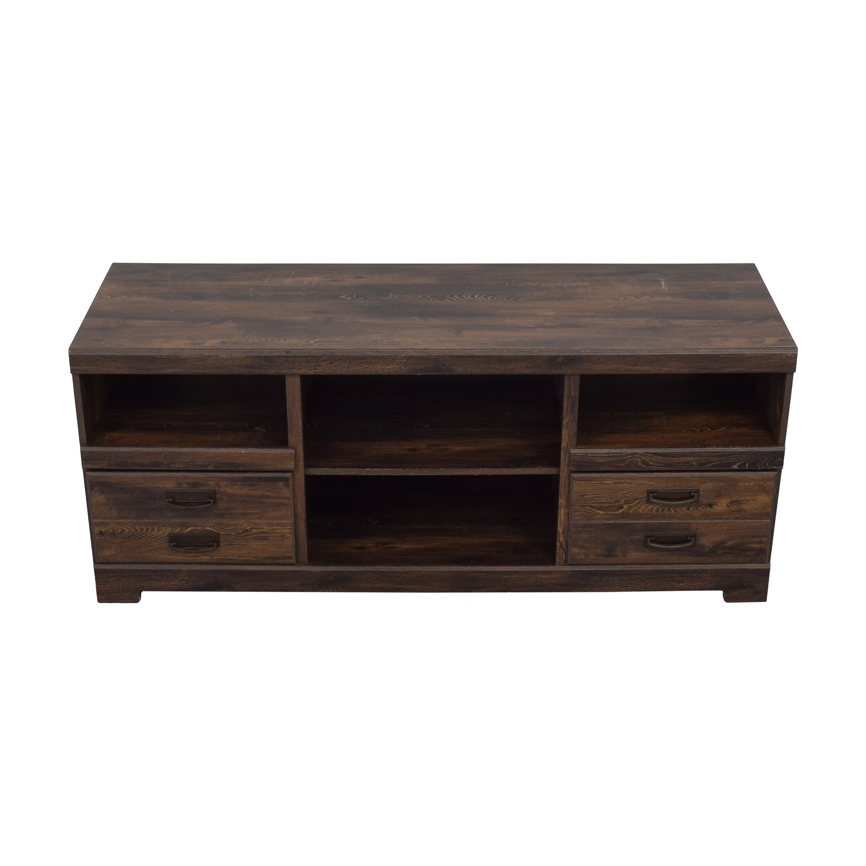 Ashley Furniture Ashley Furniture Media Console with Two Drawers ct