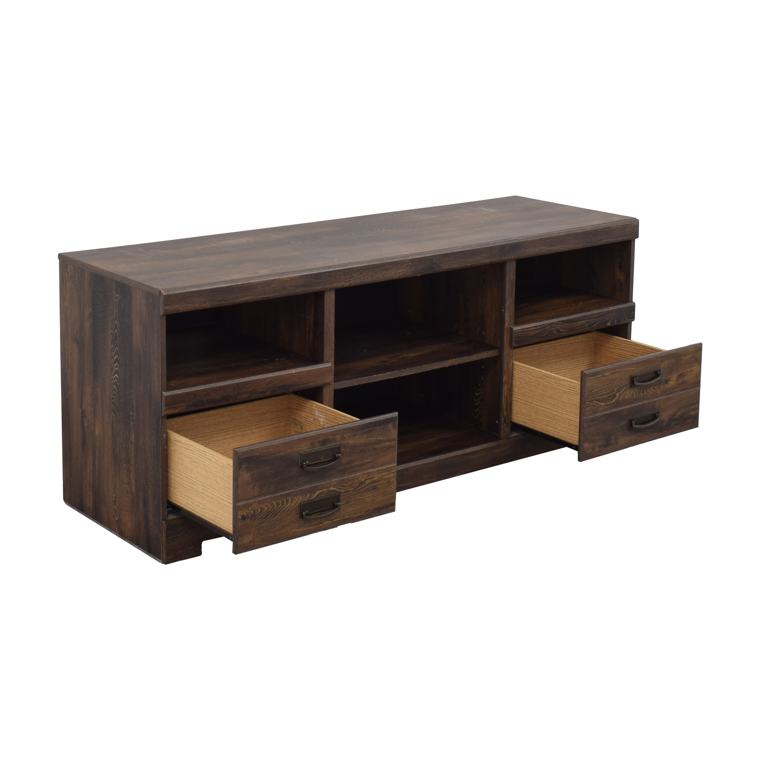 shop Ashley Furniture Ashley Furniture Media Console with Two Drawers online