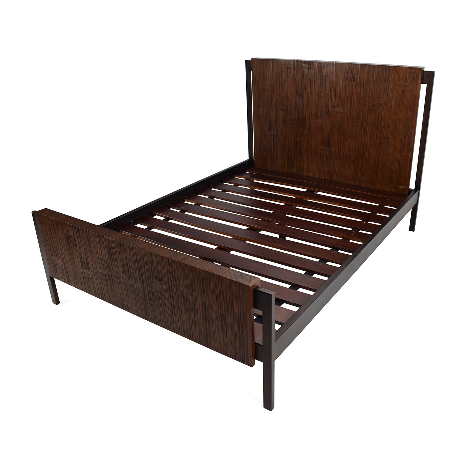Crate And Barrel Bed Frame Custom Atwood Without
