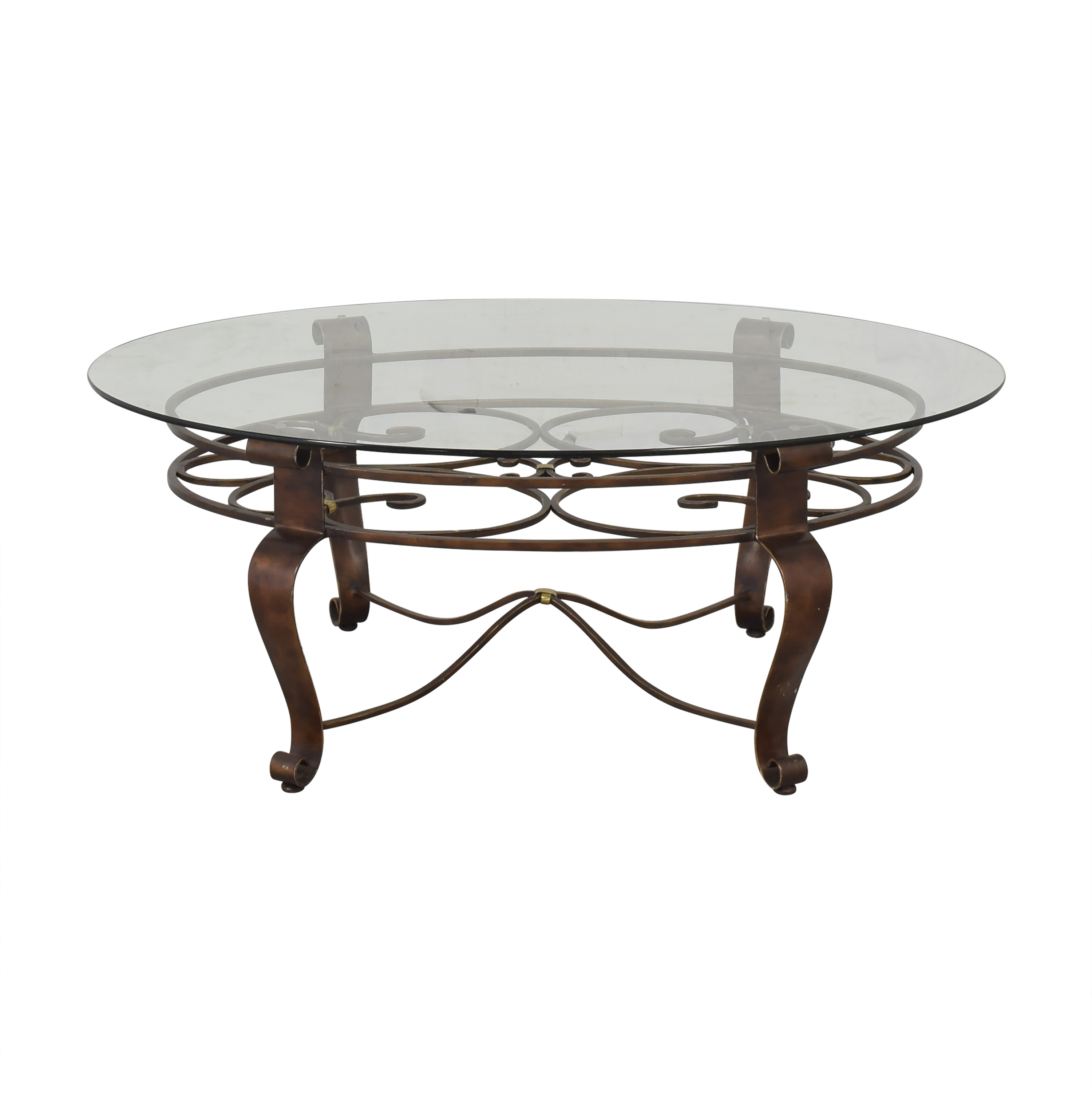 Elliptical Coffee Table on sale