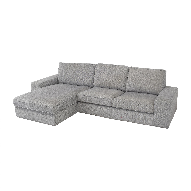 IKEA IKEA KIVIK Chaise Sectional Sofa used