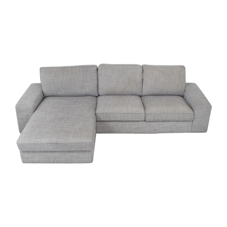 IKEA IKEA KIVIK Chaise Sectional Sofa ma