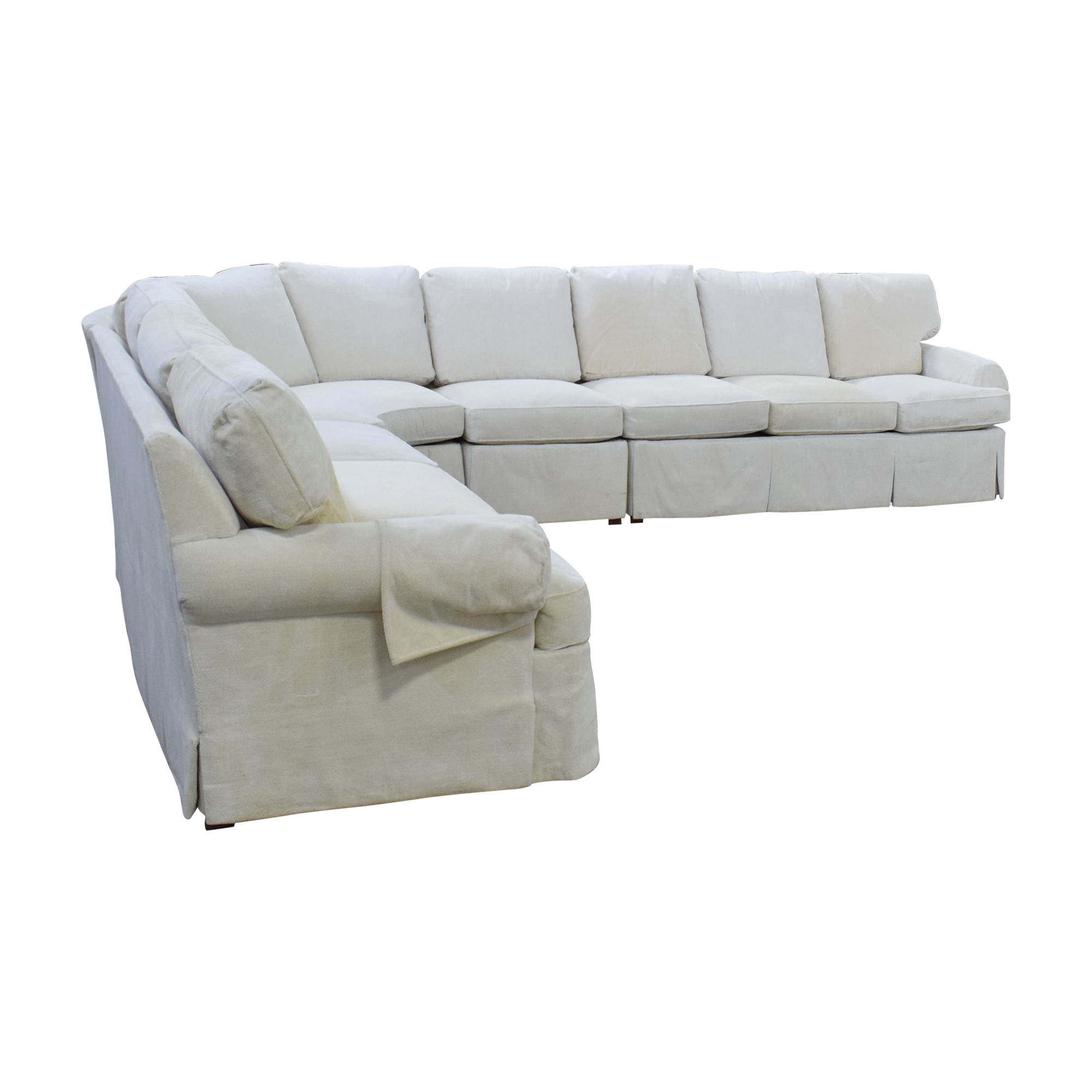 Hickory Chair Hickory Chair Sovereign Curved Sectional Sofa coupon