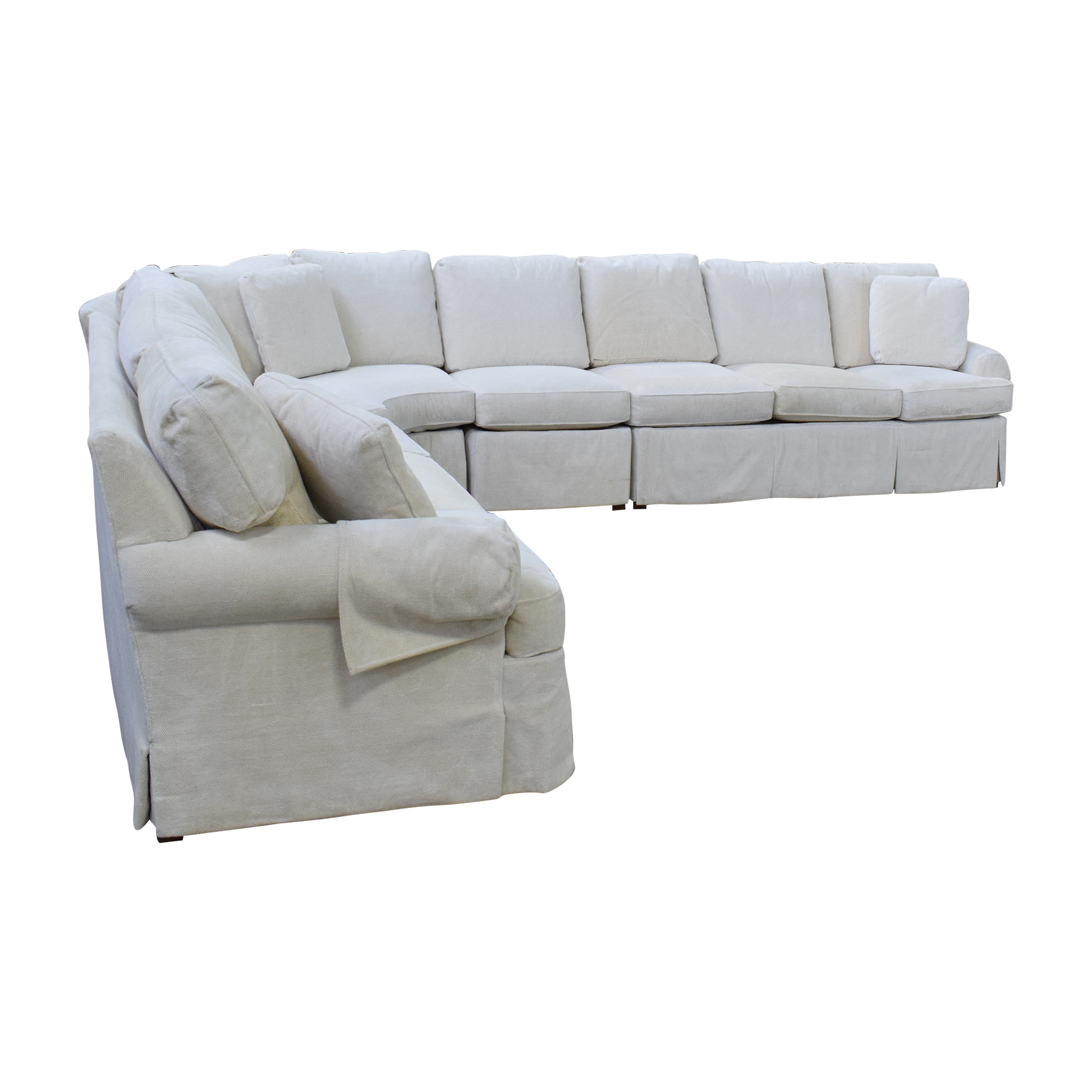 Hickory Chair Hickory Chair Sovereign Curved Sectional Sofa ma
