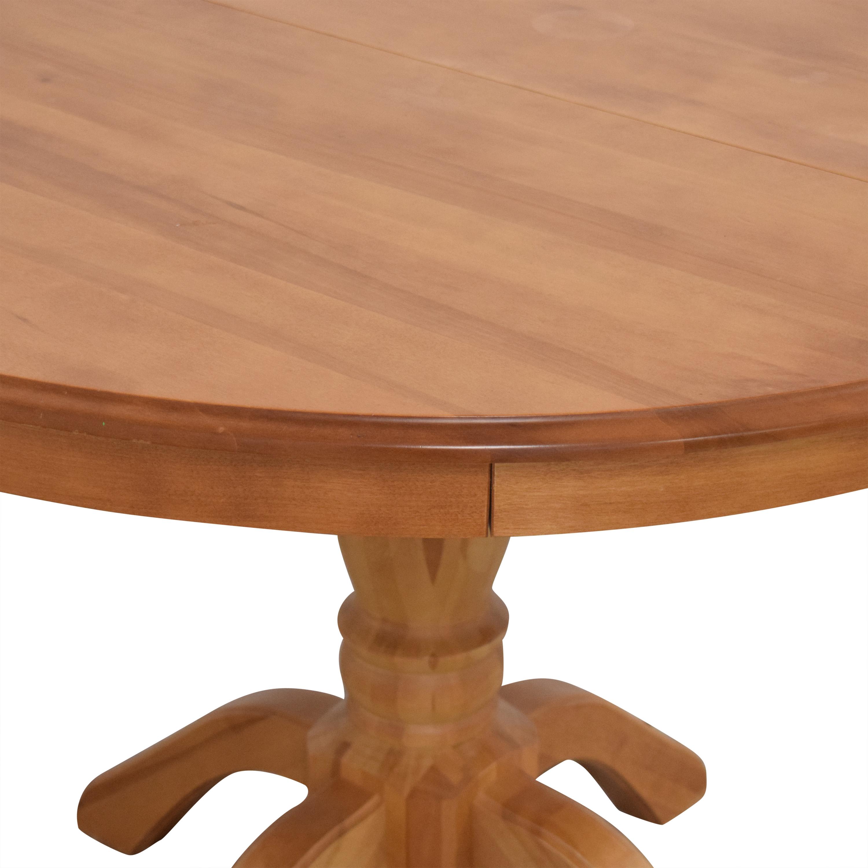 Shermag Shermag Bedard Dining Table dimensions
