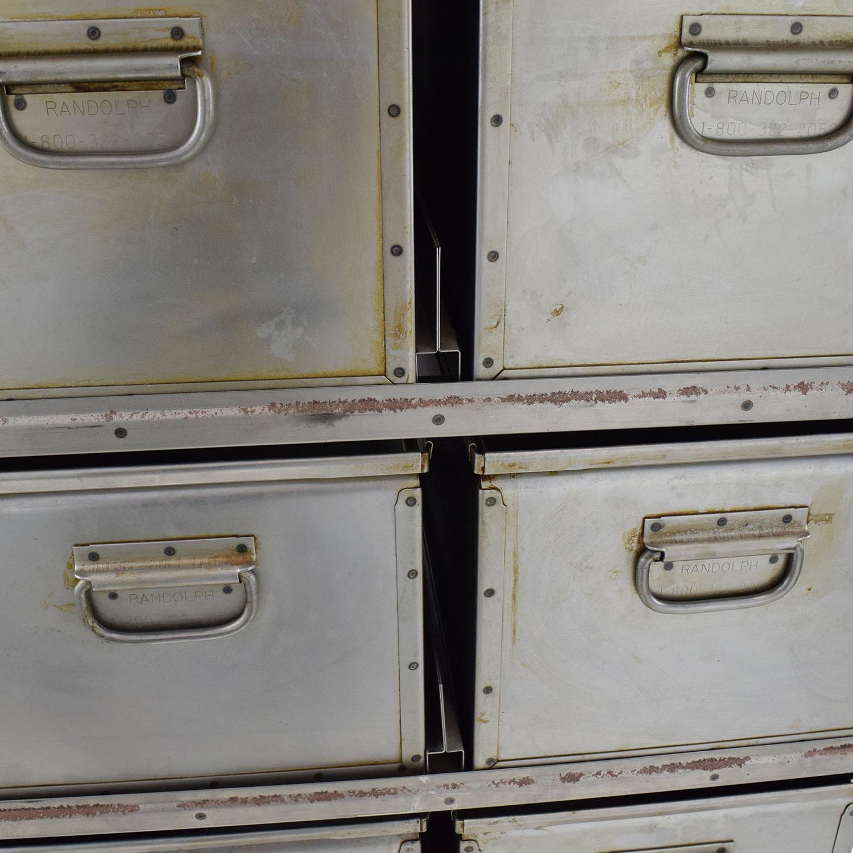 shop Metal Storage Bins Unknown Brand Storage