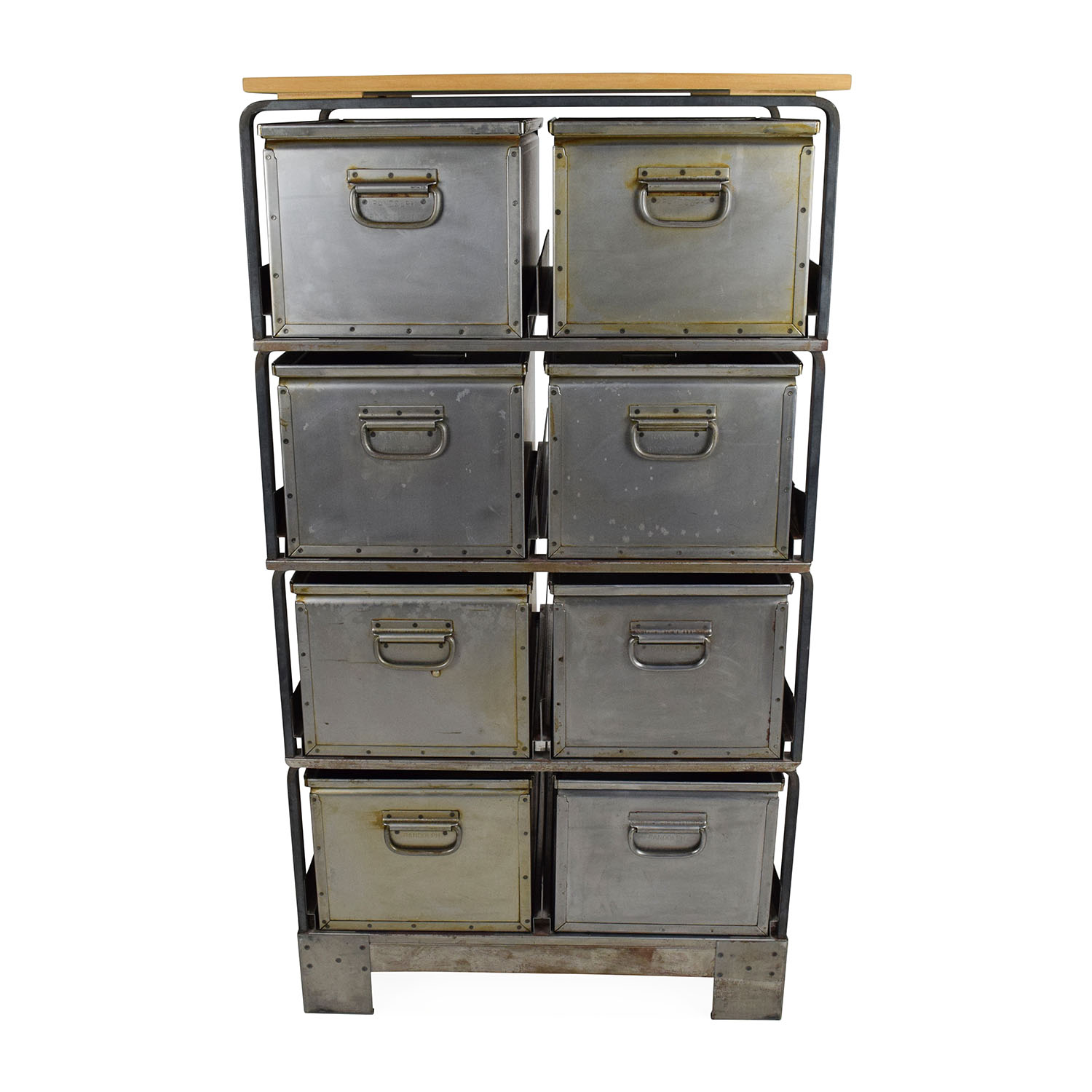 shop Metal Storage Bins Unknown Brand