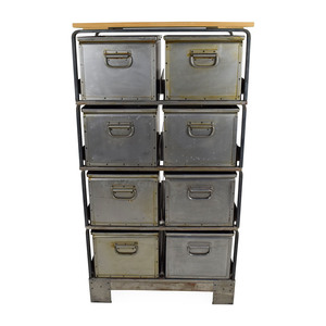 Metal Storage Bins for sale