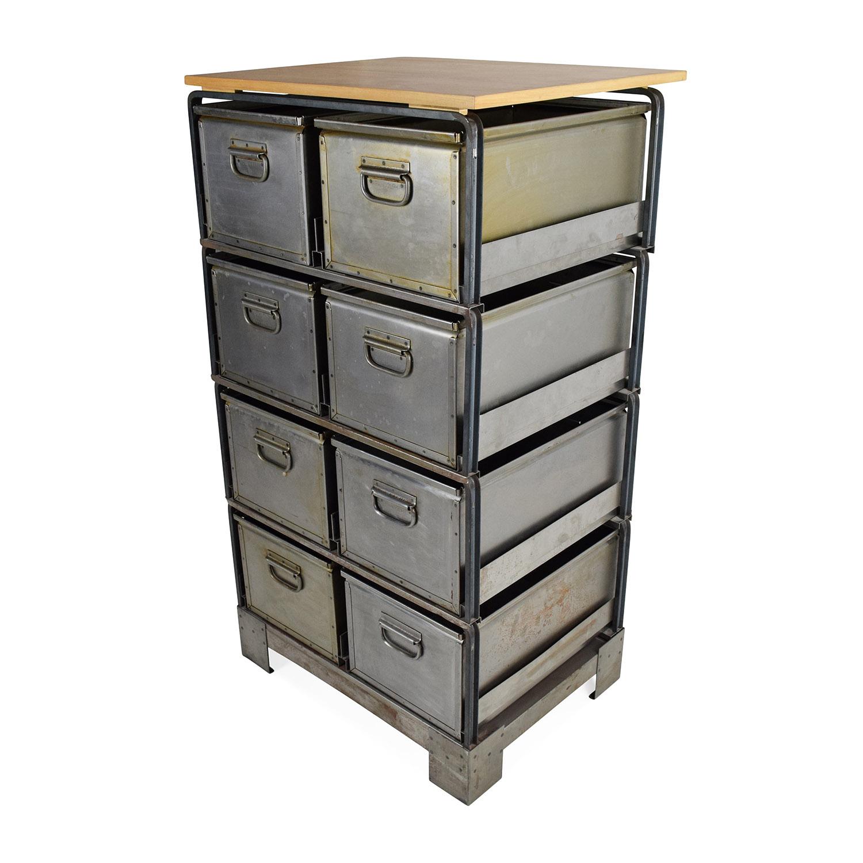 buy Metal Storage Bins Unknown Brand Filing & Bins