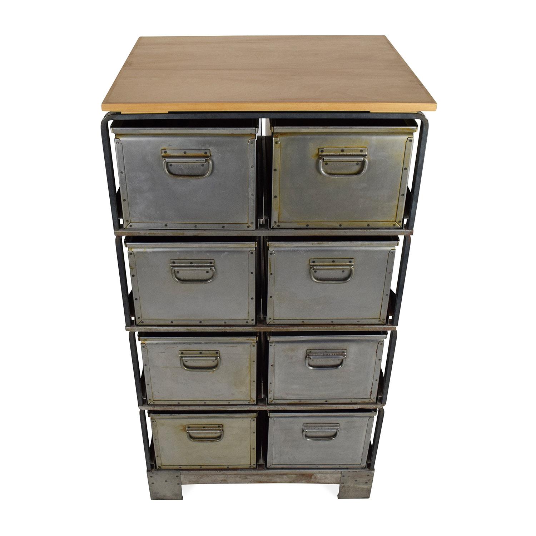 shop Metal Storage Bins Unknown Brand Filing & Bins