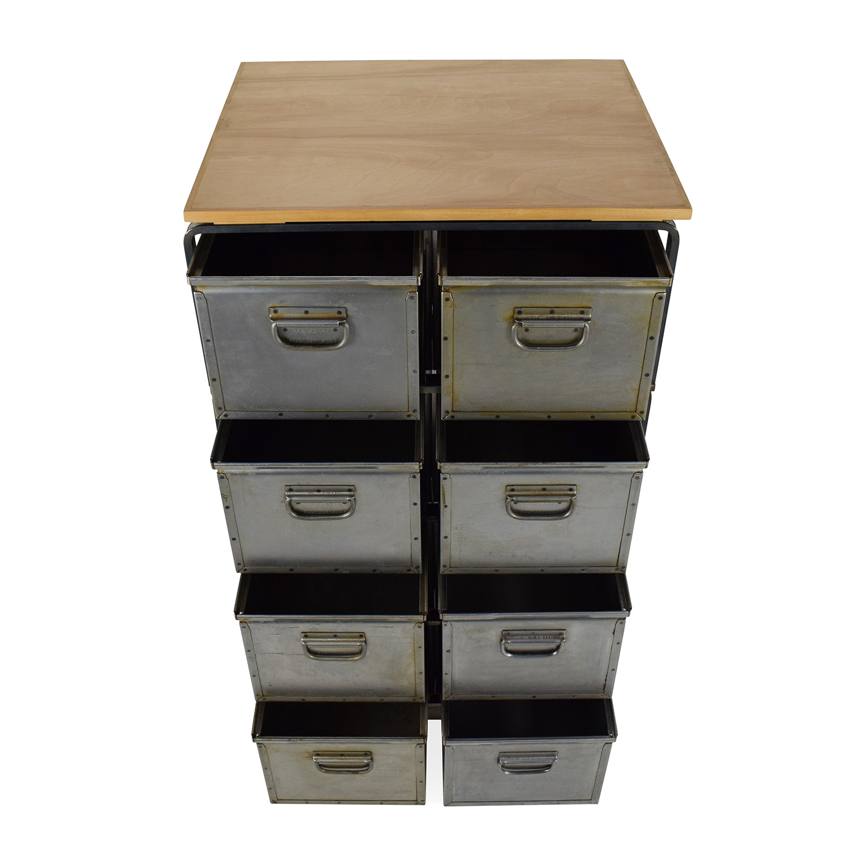 buy Metal Storage Bins Unknown Brand Storage