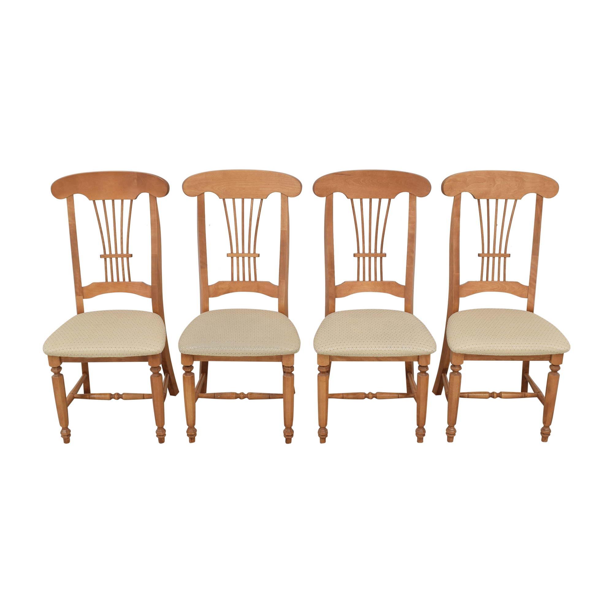 Canadel Canadel Upholstered Dining Chairs second hand