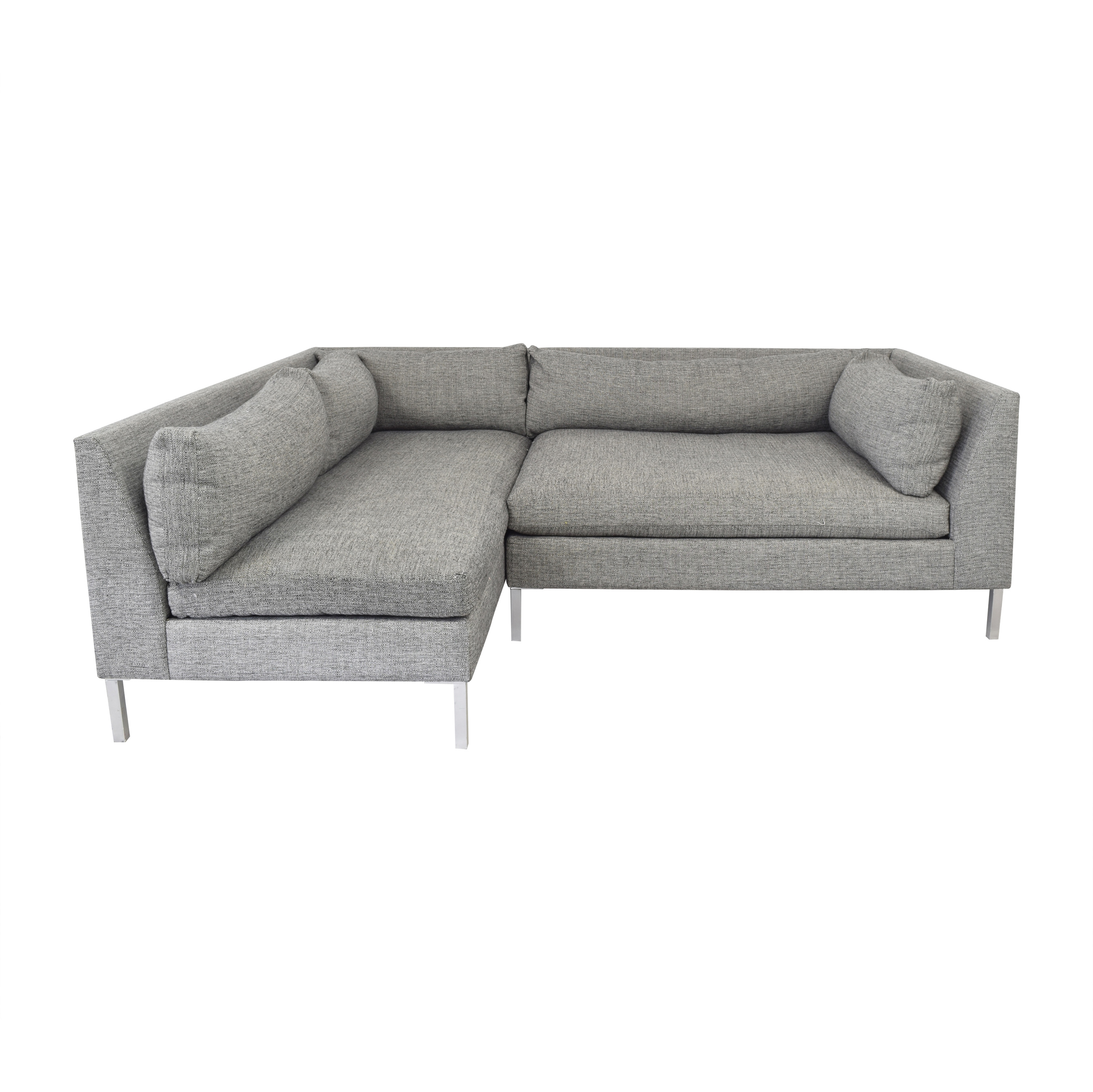 CB2 CB2 Holden 2-Piece Tufted Sectional Sofa price