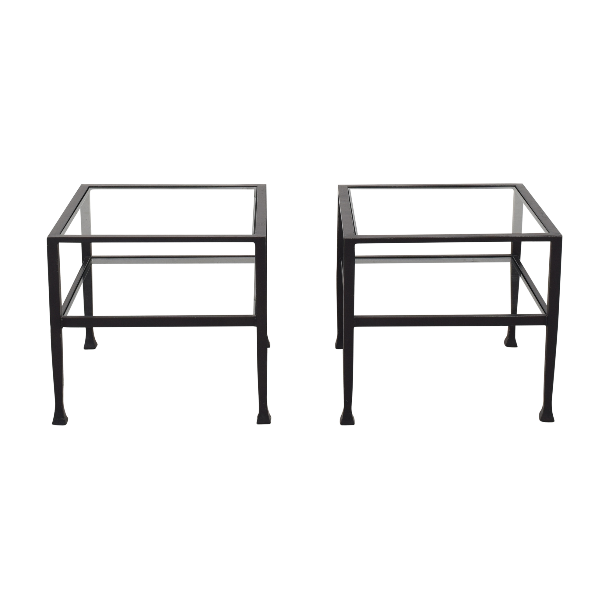 Pottery Barn Tanner Cube Coffee Tables sale