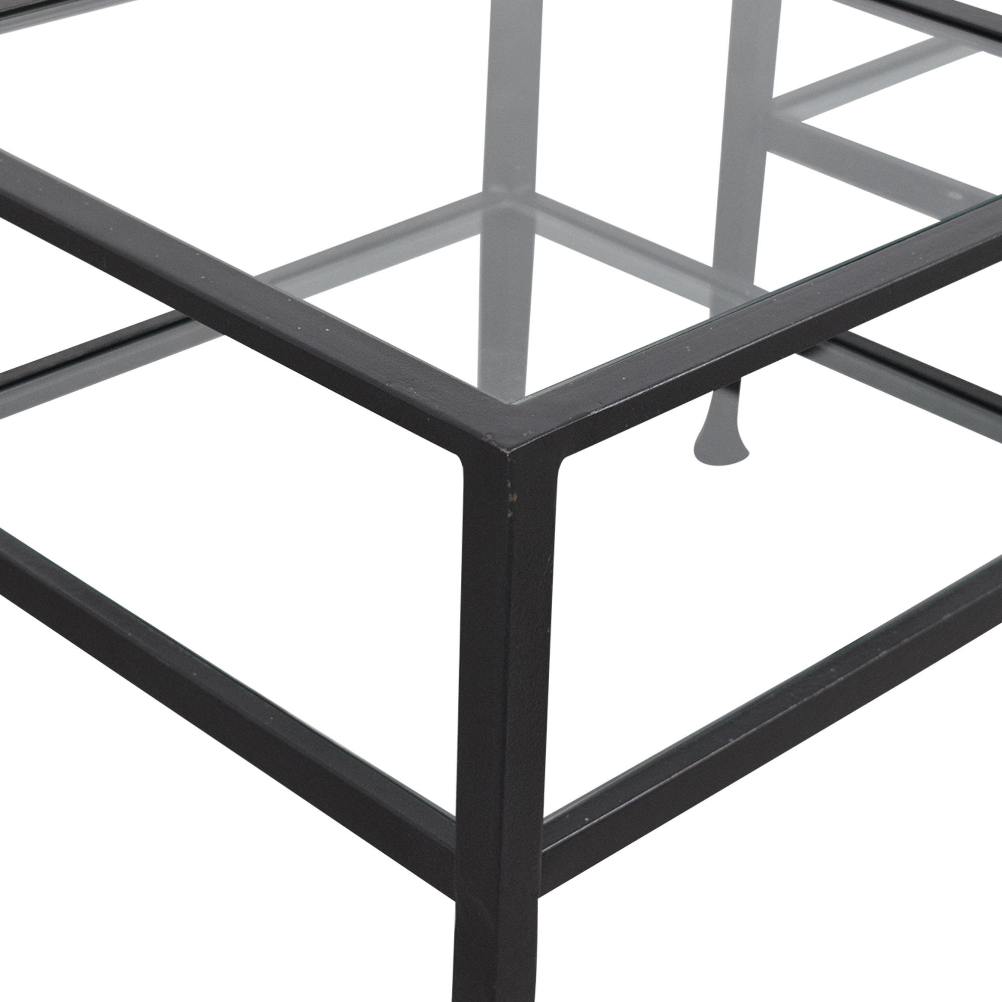 Pottery Barn Pottery Barn Tanner Cube Coffee Tables ma