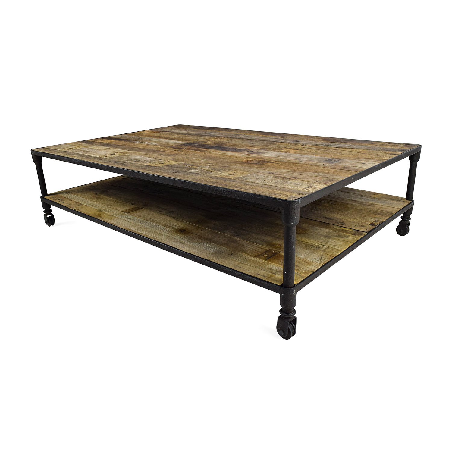 56 Off Restoration Hardware Restoration Hardware Oversized Coffee Table Tables