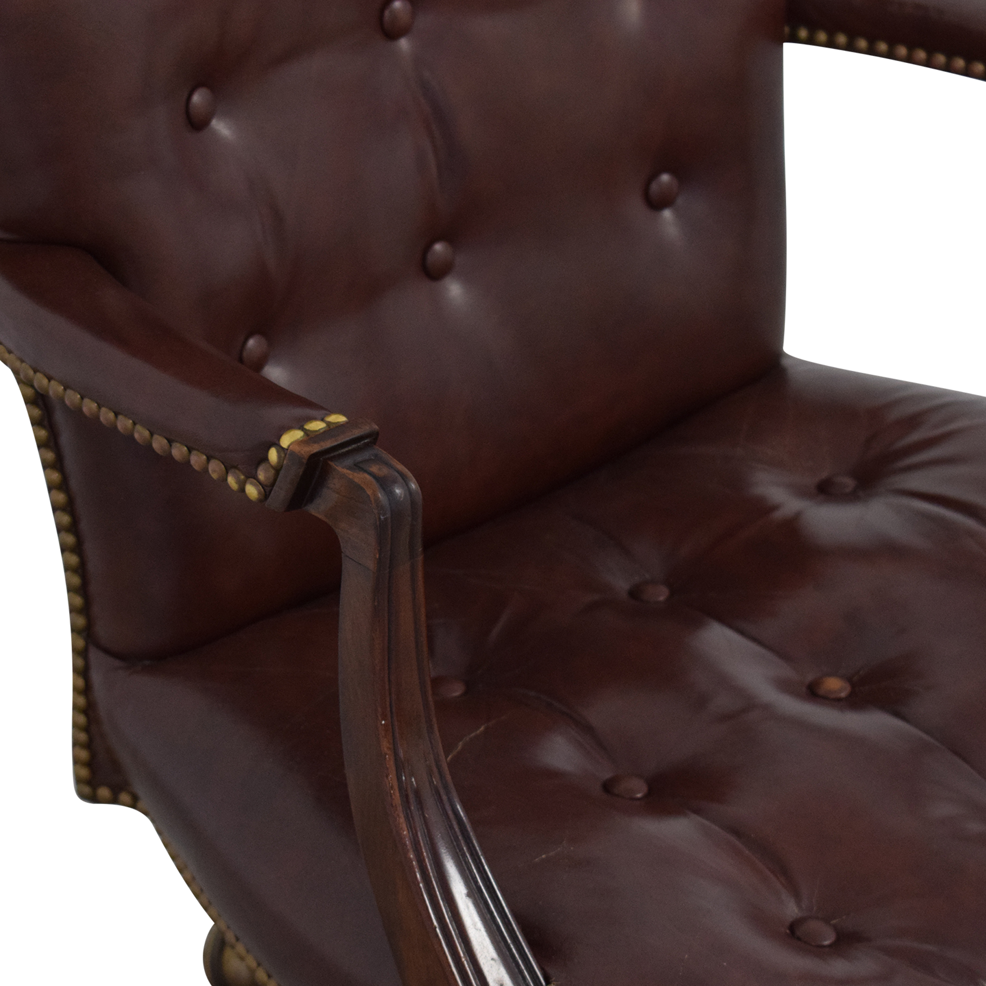 Hickory Chair Hickory Chair Swivel Tilt Desk Chair used