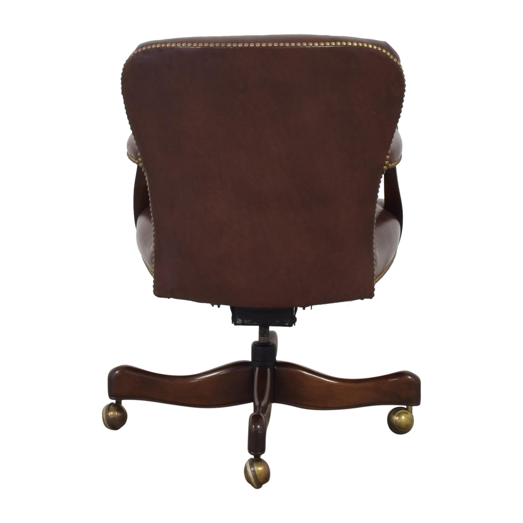 Hickory Chair Swivel Tilt Desk Chair / Home Office Chairs