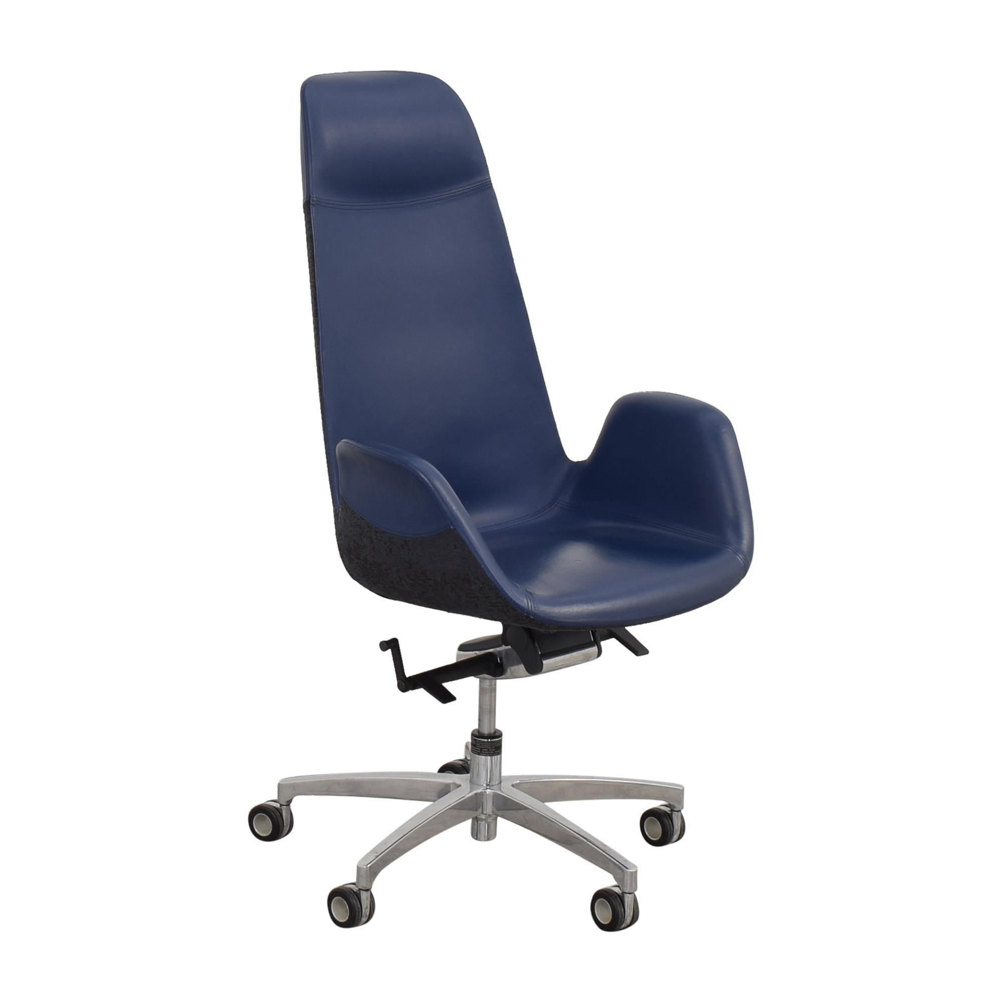 Koleksiyon Koleksiyon Halia High Back Office Chair dimensions