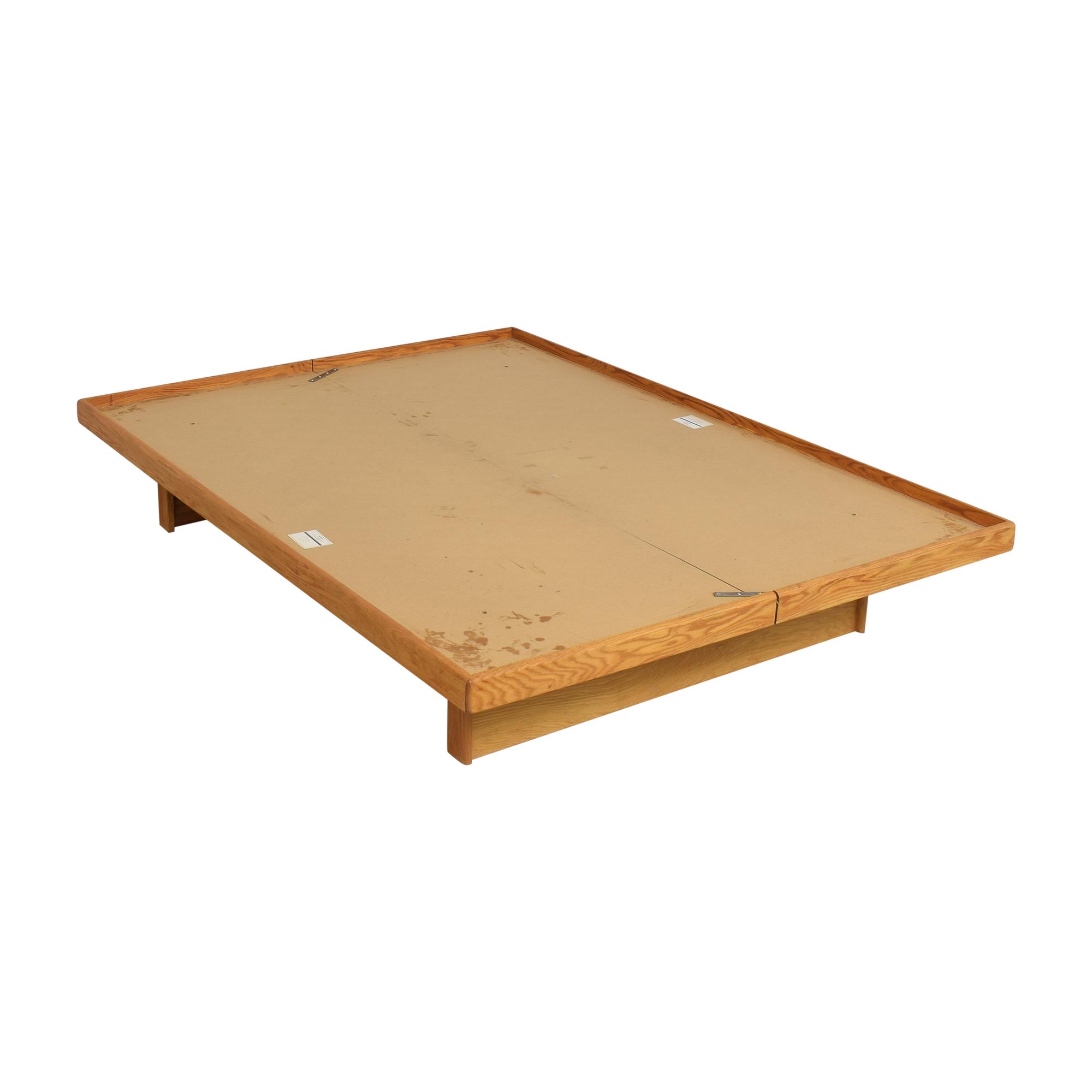 Platform Queen Bed used