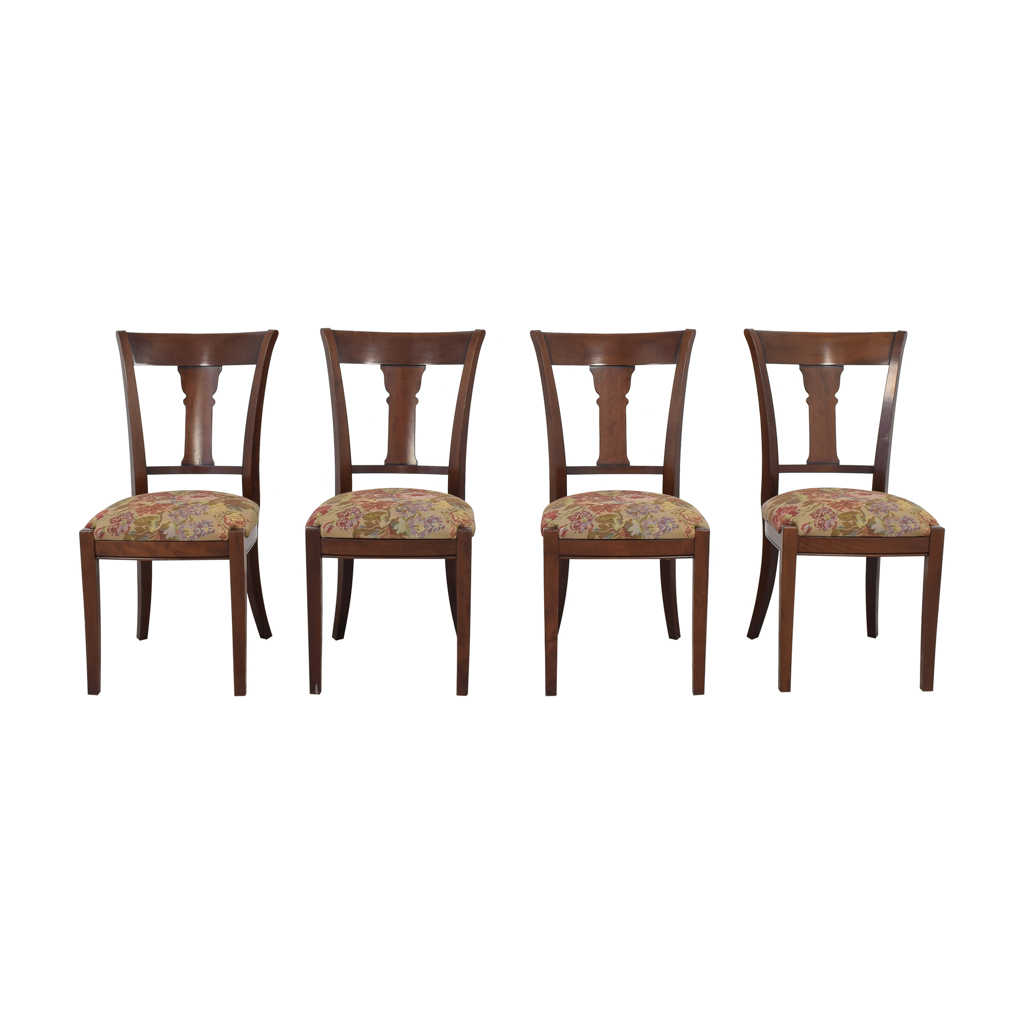 Grange Grange Upholstered Dining Chairs second hand