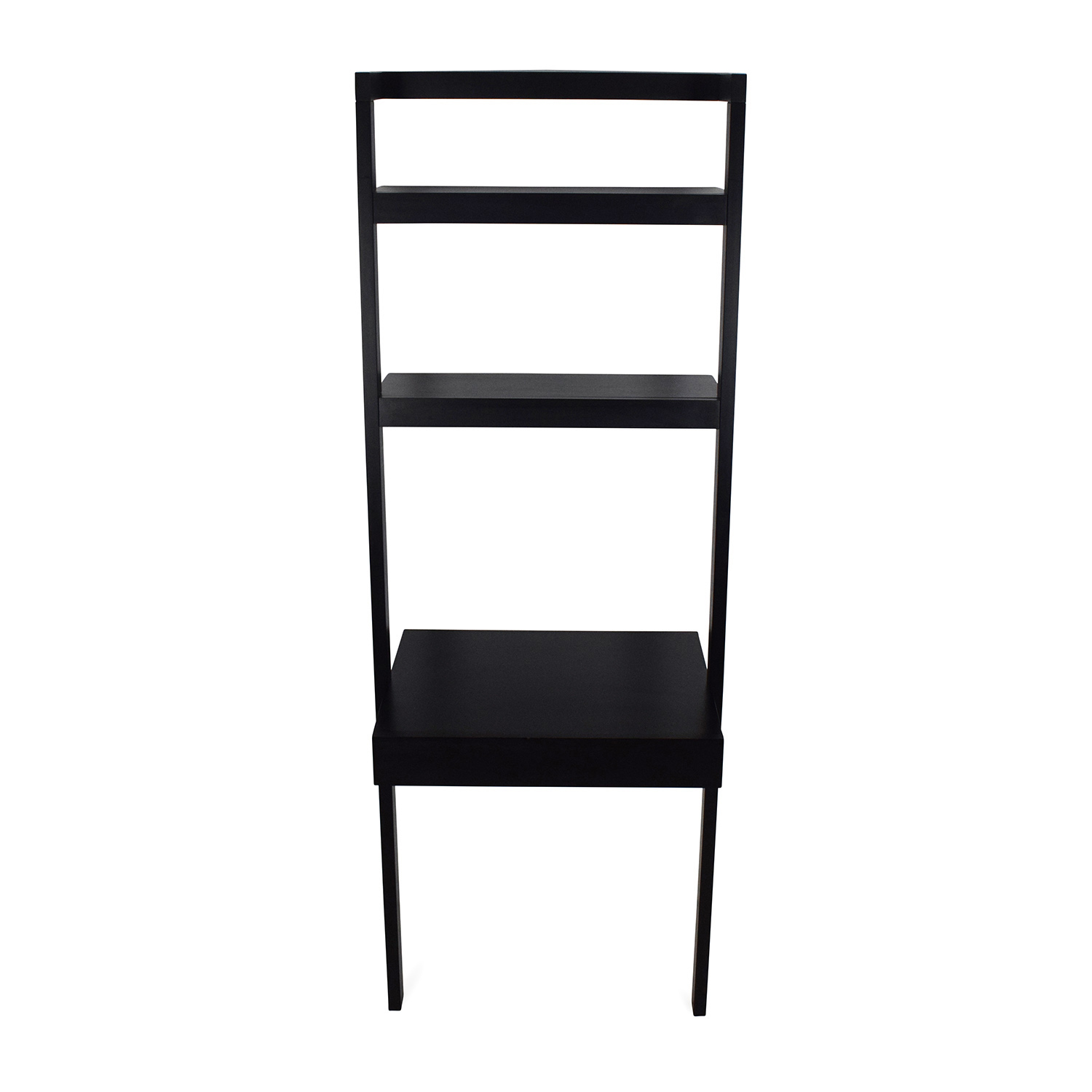 Crate and Barrel Crate and Barrel Leaning Shelf used
