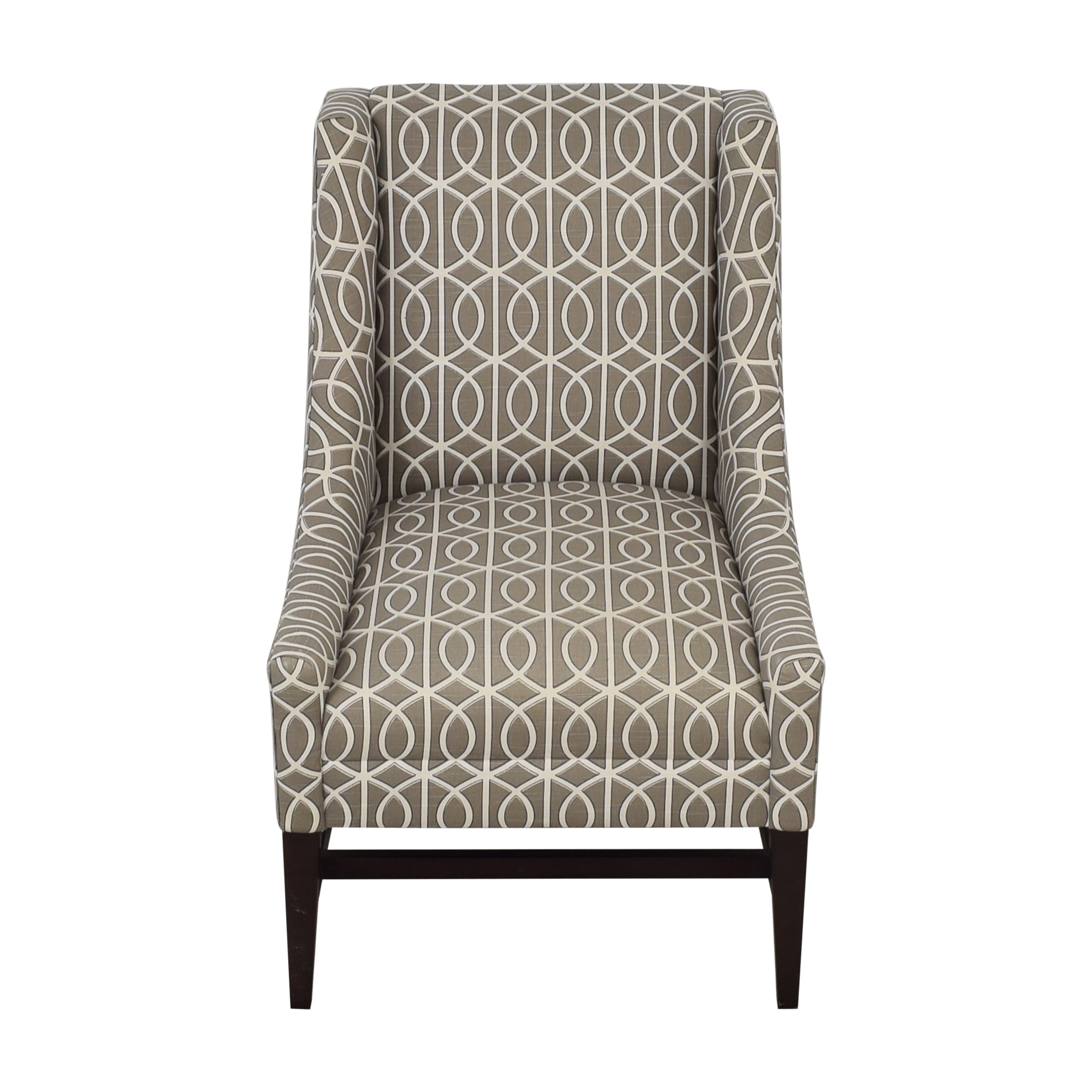 Crate & Barrel Crate & Barrel Chloe Armchair Lounge Accent Chair for sale