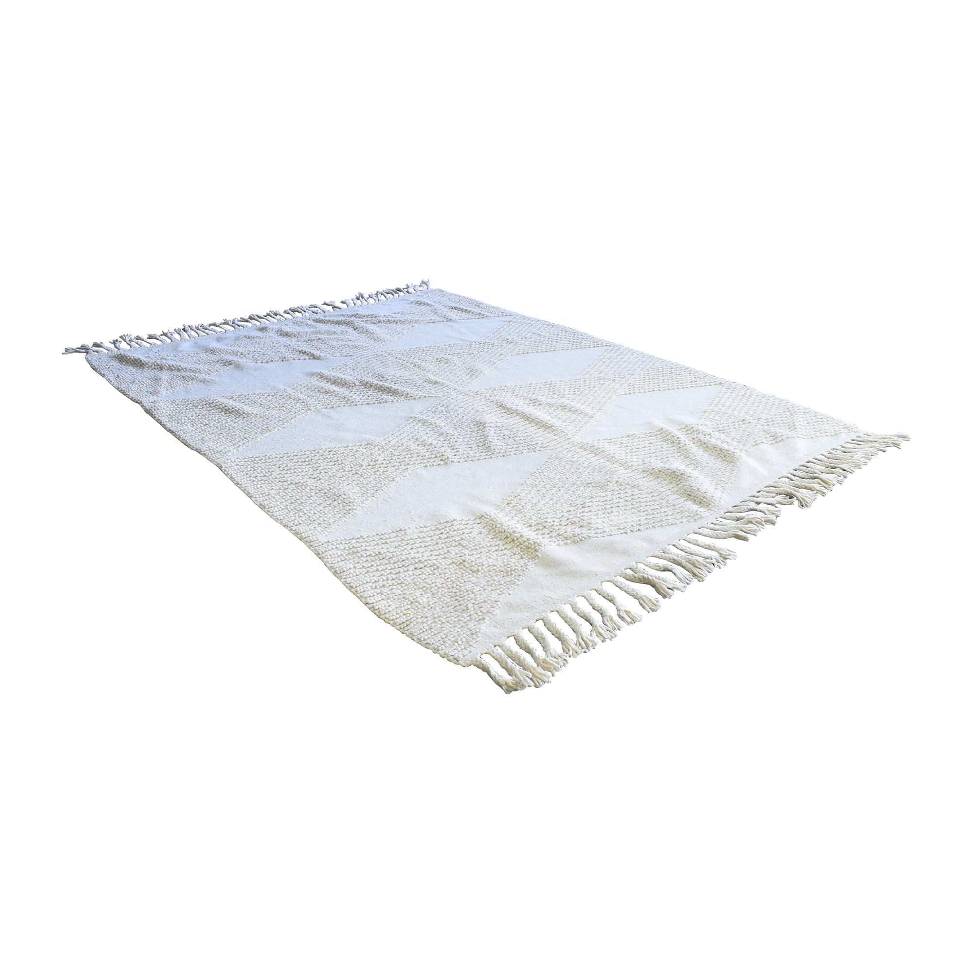 World Market Wool Area Rug sale