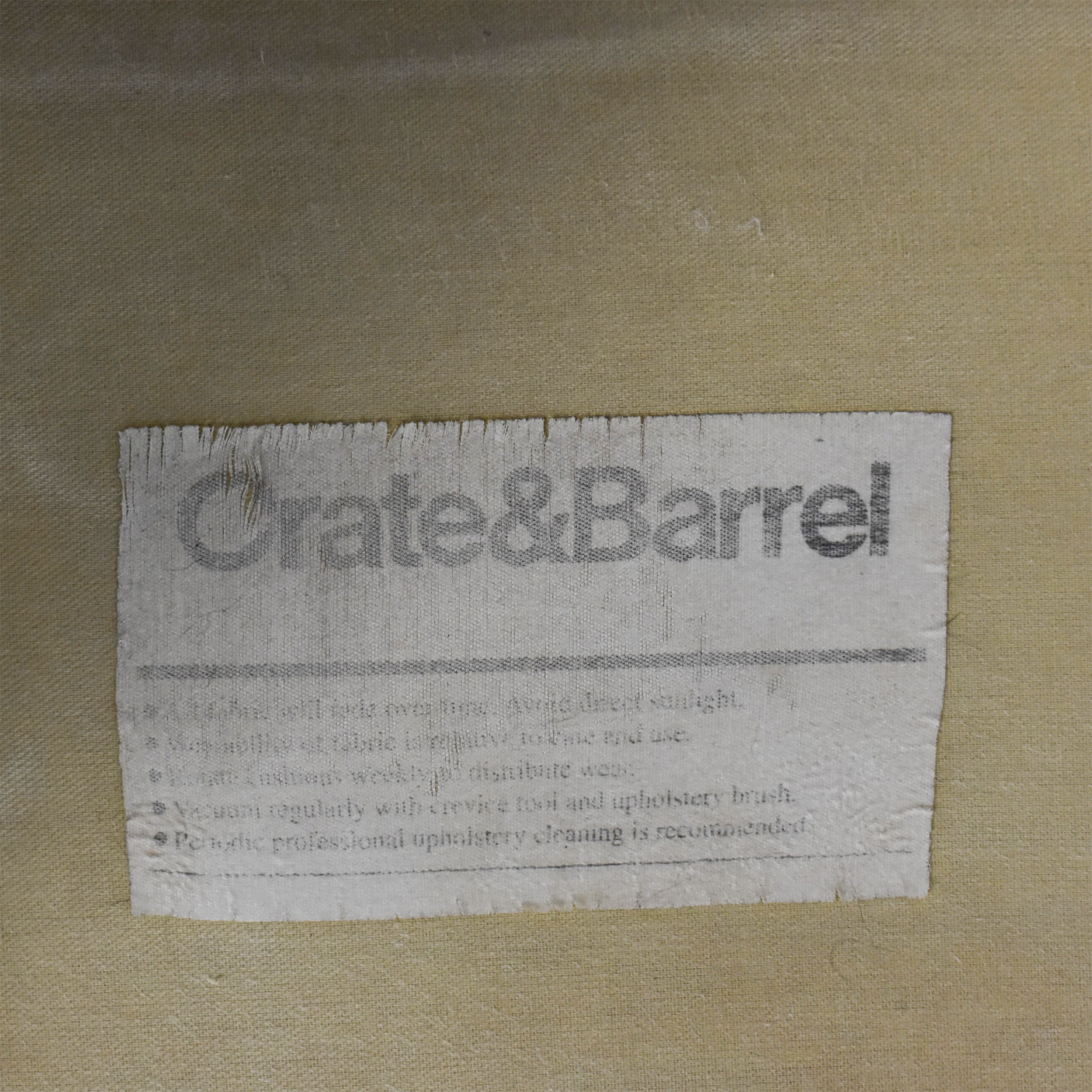 Crate & Barrel Crate & Barrel Accent Chair used