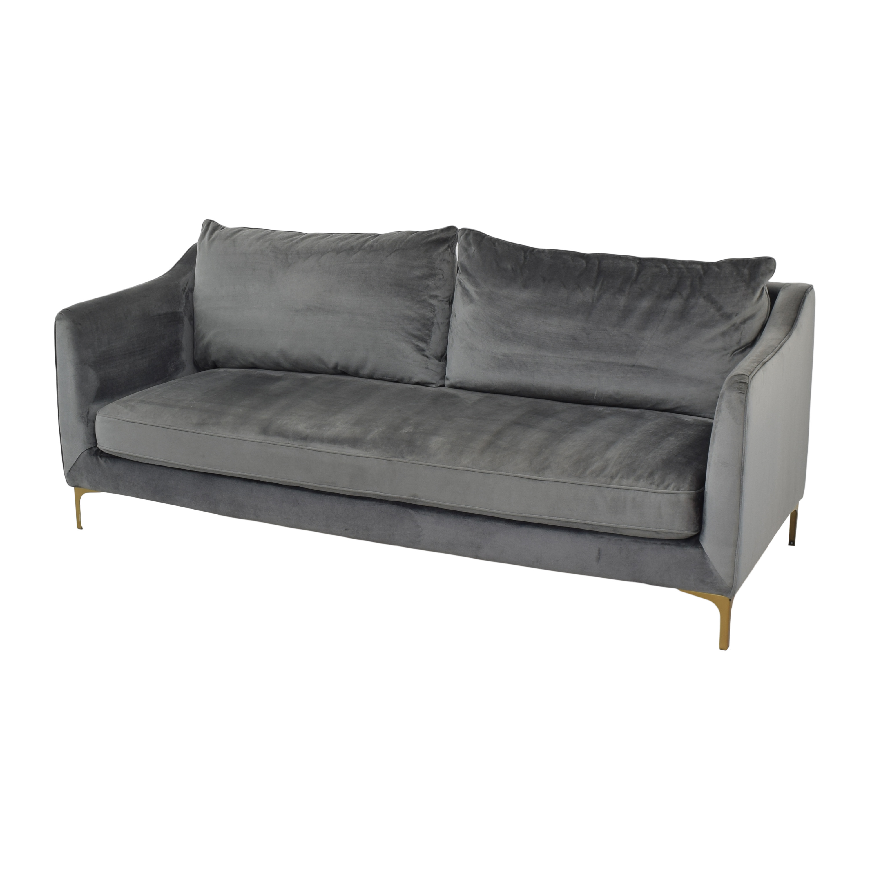 Interior Define Interior Define Grey Caitlin Sofa ma
