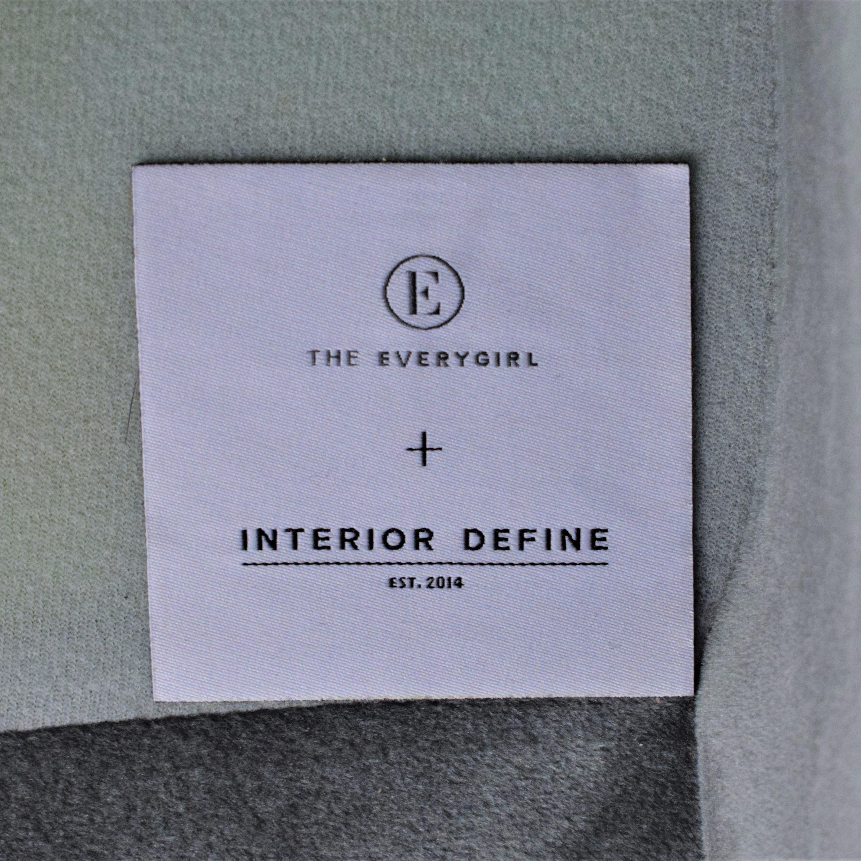 Interior Define Grey Caitlin Sofa / Classic Sofas
