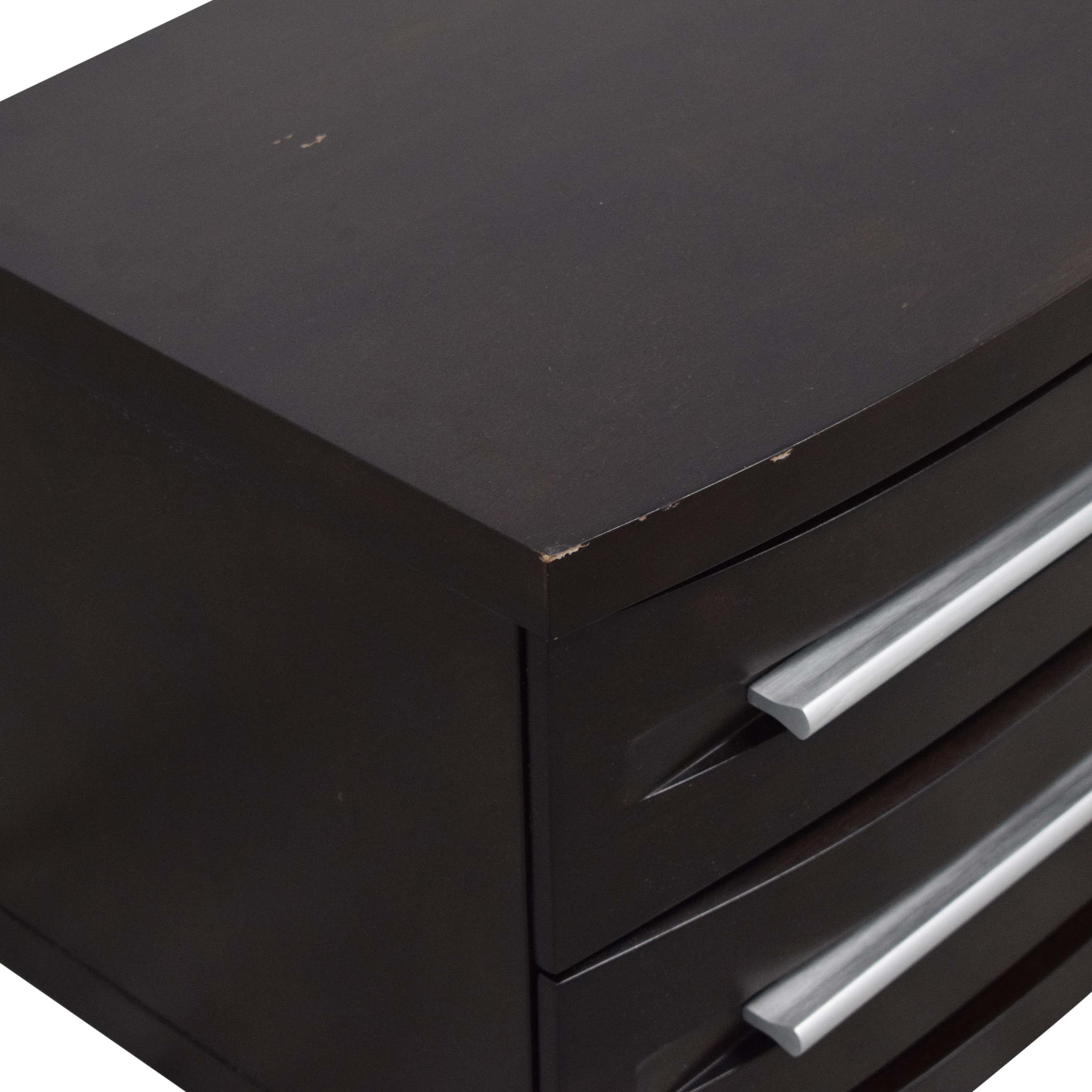 Casana Furniture Casana Furniture Two-Drawer Nightstand End Table nyc