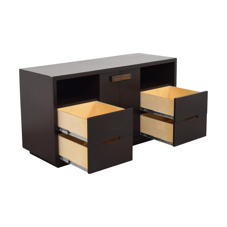 shop Custom Console Media Unit  Storage