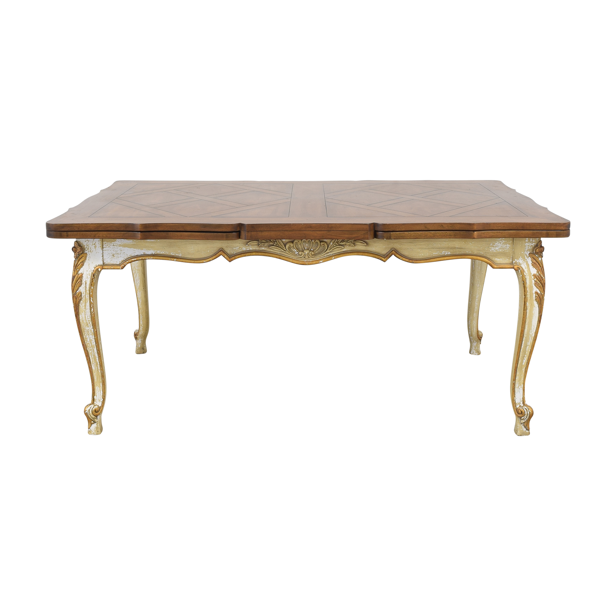 buy Rectangular Extendable Dining Table  Dinner Tables