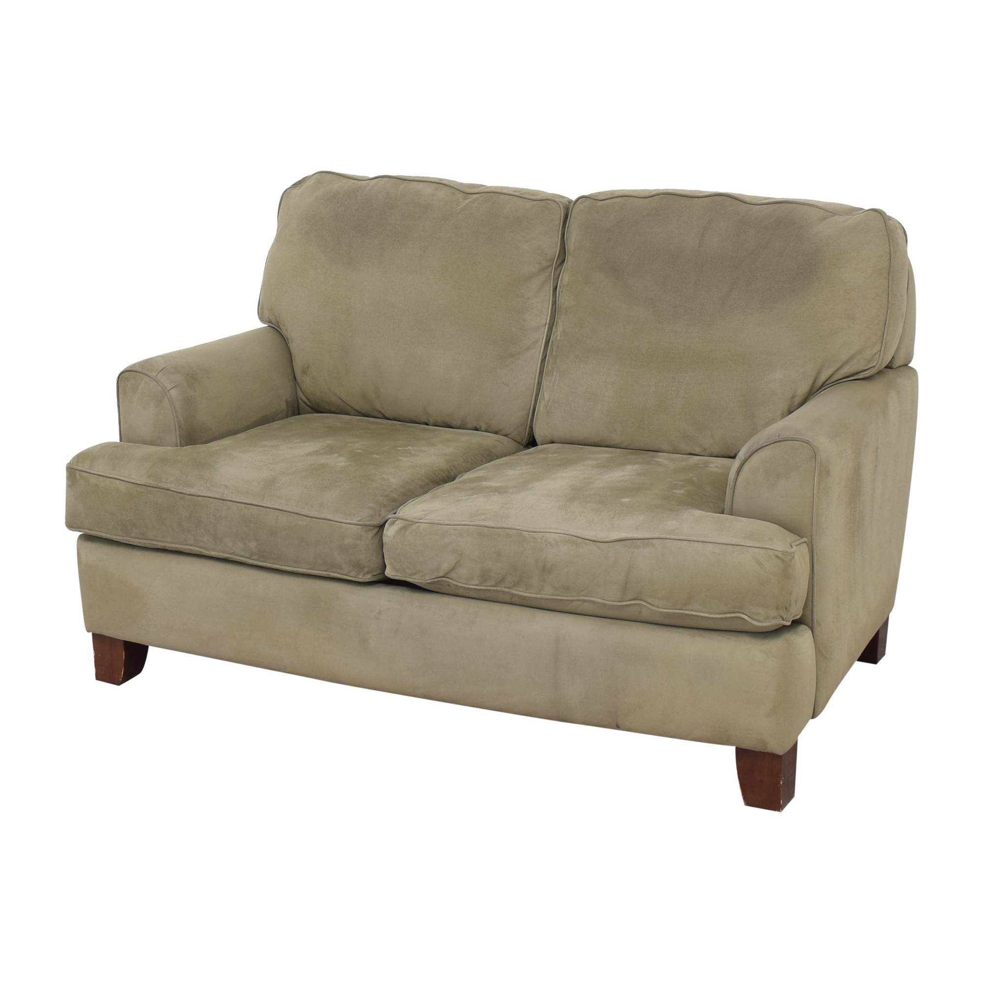 buy JC Penney Two Cushion Loveseat JC Penney