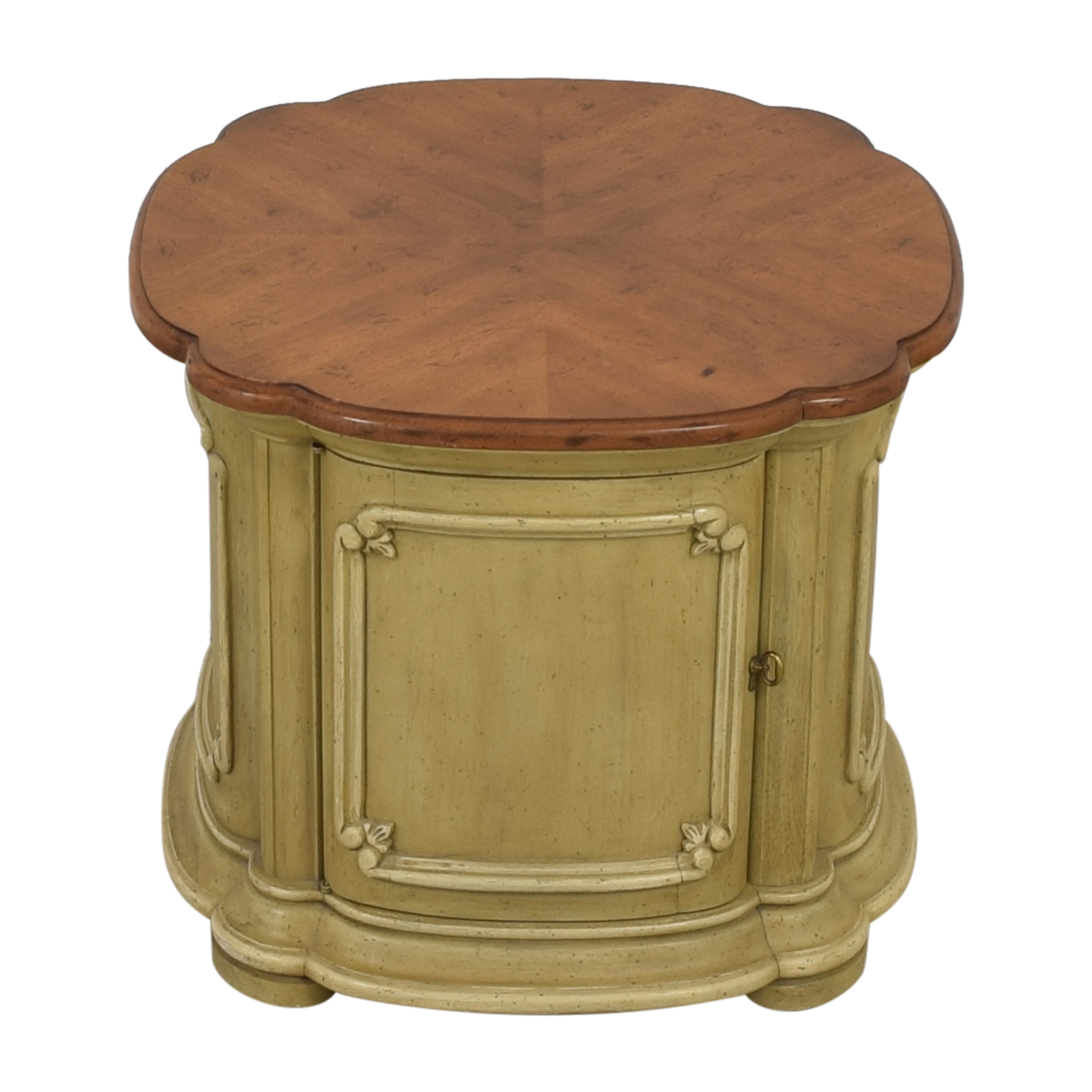 buy Drum Style End Table  Tables