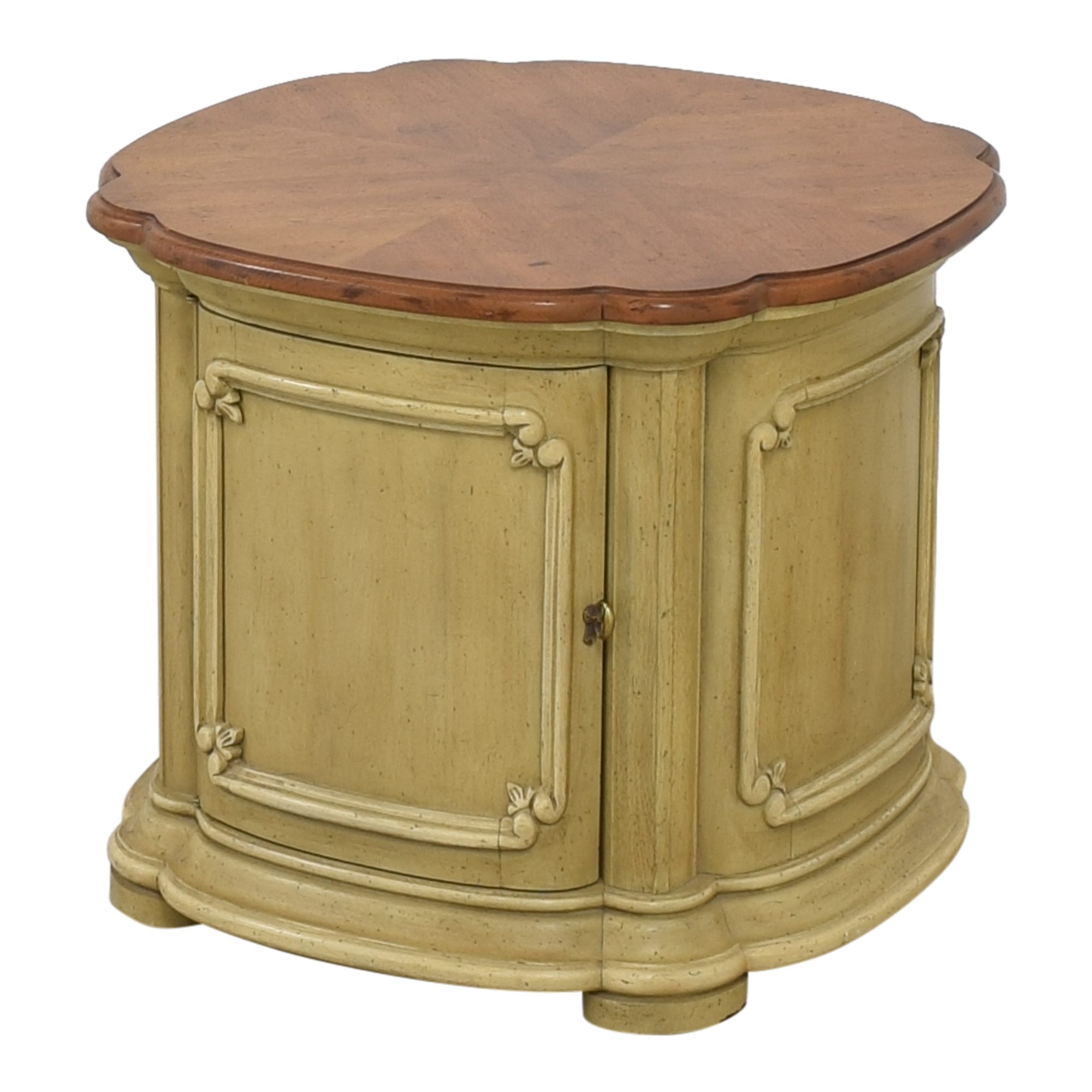 buy Drum Style End Table