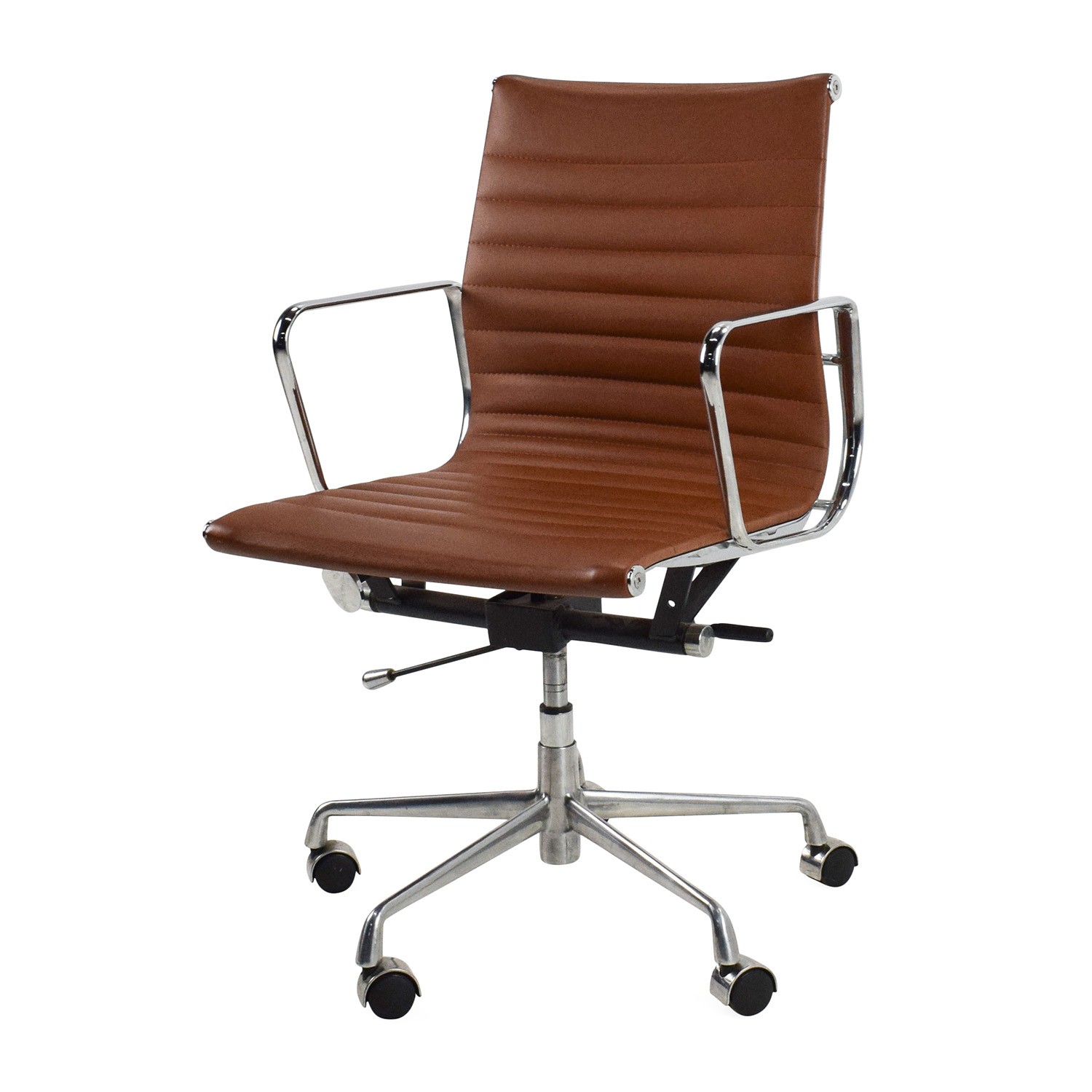 Unknown Brand Chrome Office Chair