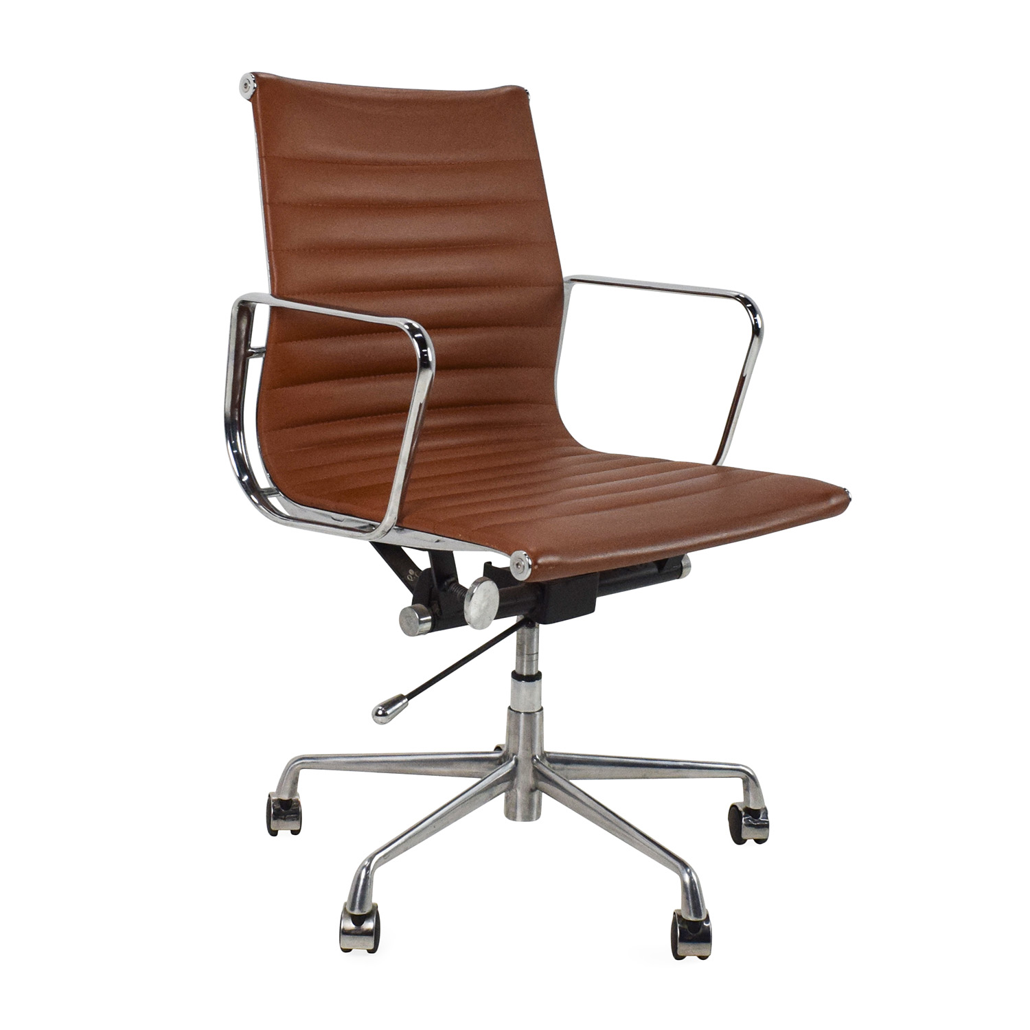 Chrome Office Chair Unknown Brand