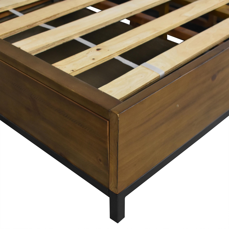 shop Macy's Gatlin Storage Queen Platform Bed Macy's Beds