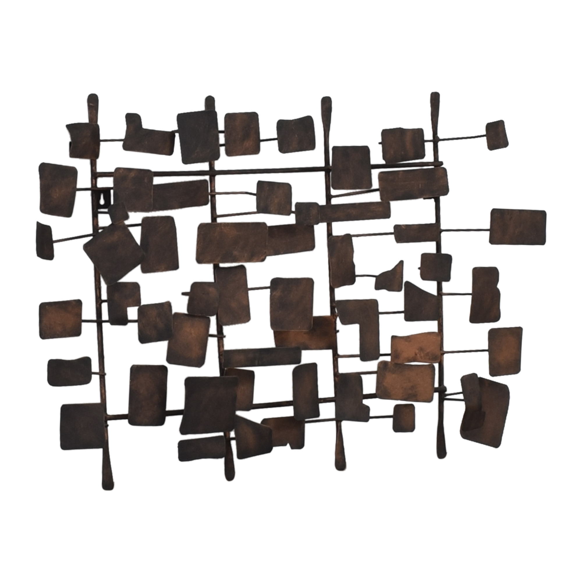 buy Ethan Allen Metal Wall Sculpture Ethan Allen Decor