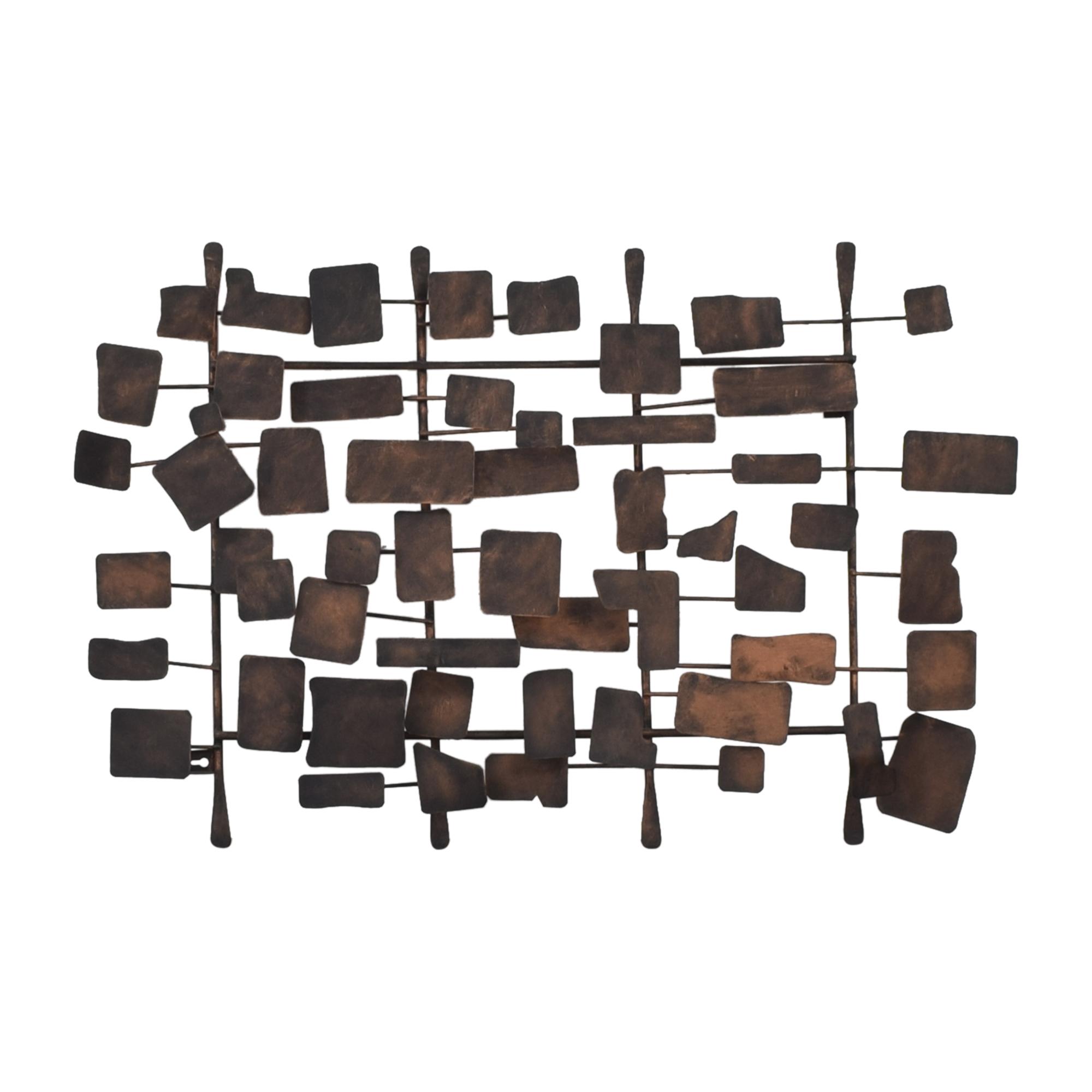 Ethan Allen Ethan Allen Metal Wall Sculpture on sale