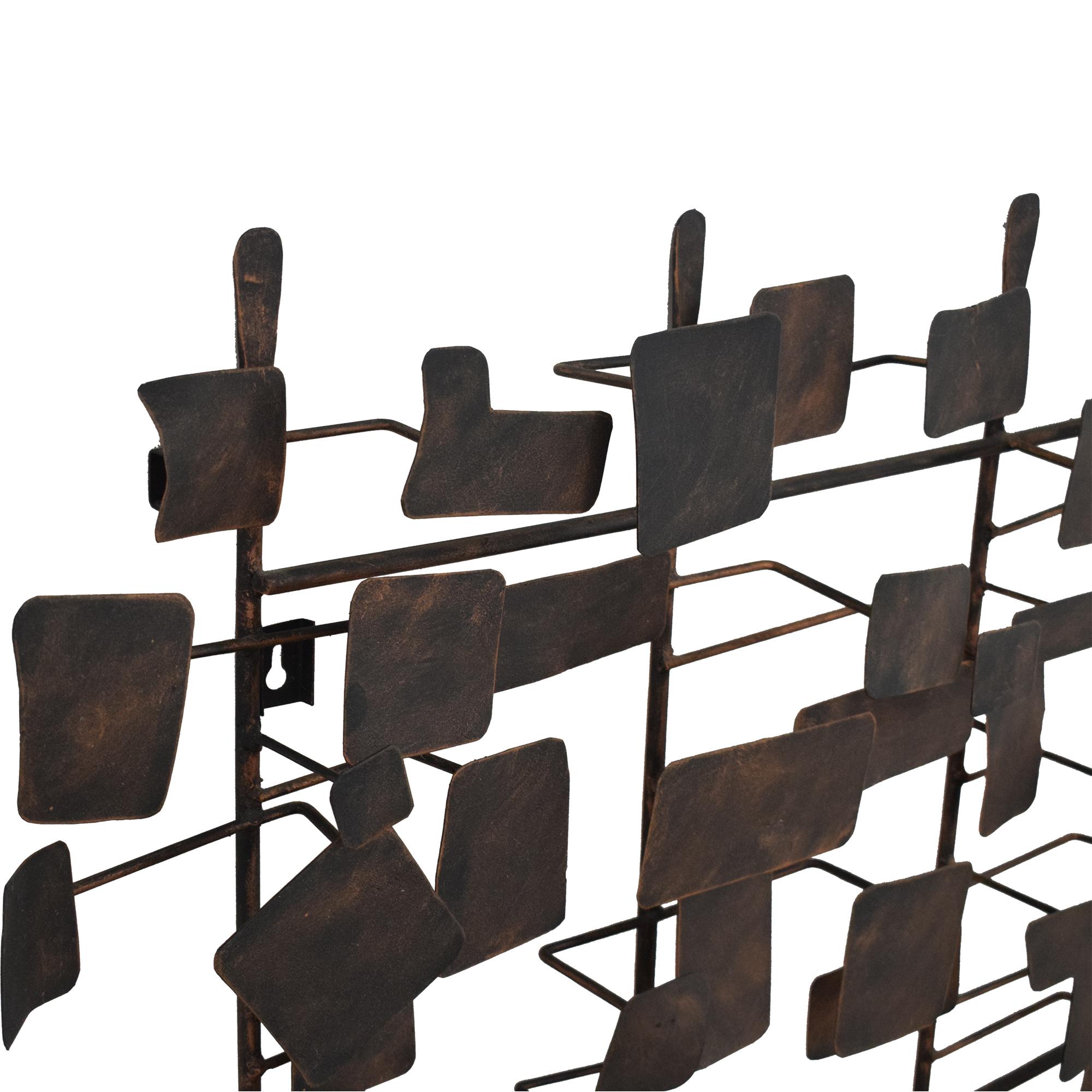 Ethan Allen Ethan Allen Metal Wall Sculpture ma