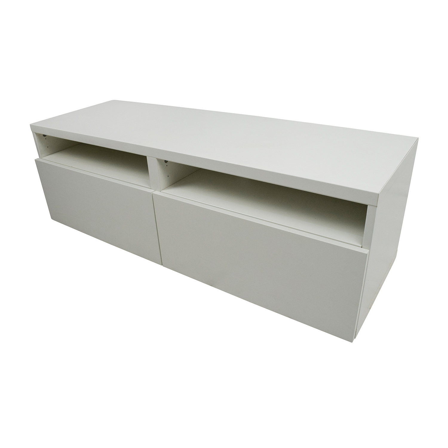 50 off ikea ikea media unit with drawers storage. Black Bedroom Furniture Sets. Home Design Ideas